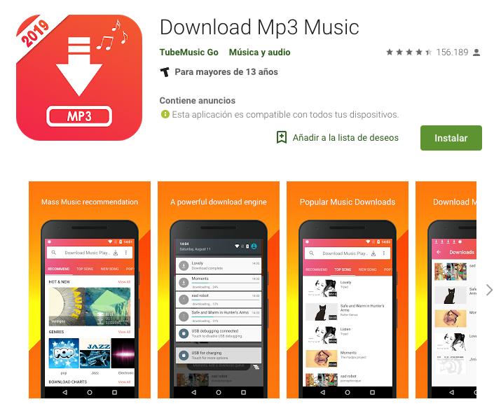 descargar musica de youtube gratis mp3 para celular
