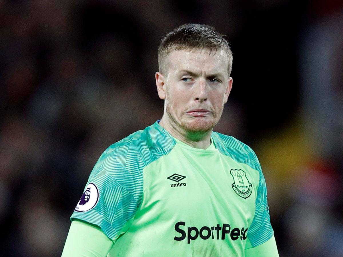 En fotos: el error de Jordan Pickford que le costó la derrota al Everton contra Liverpool