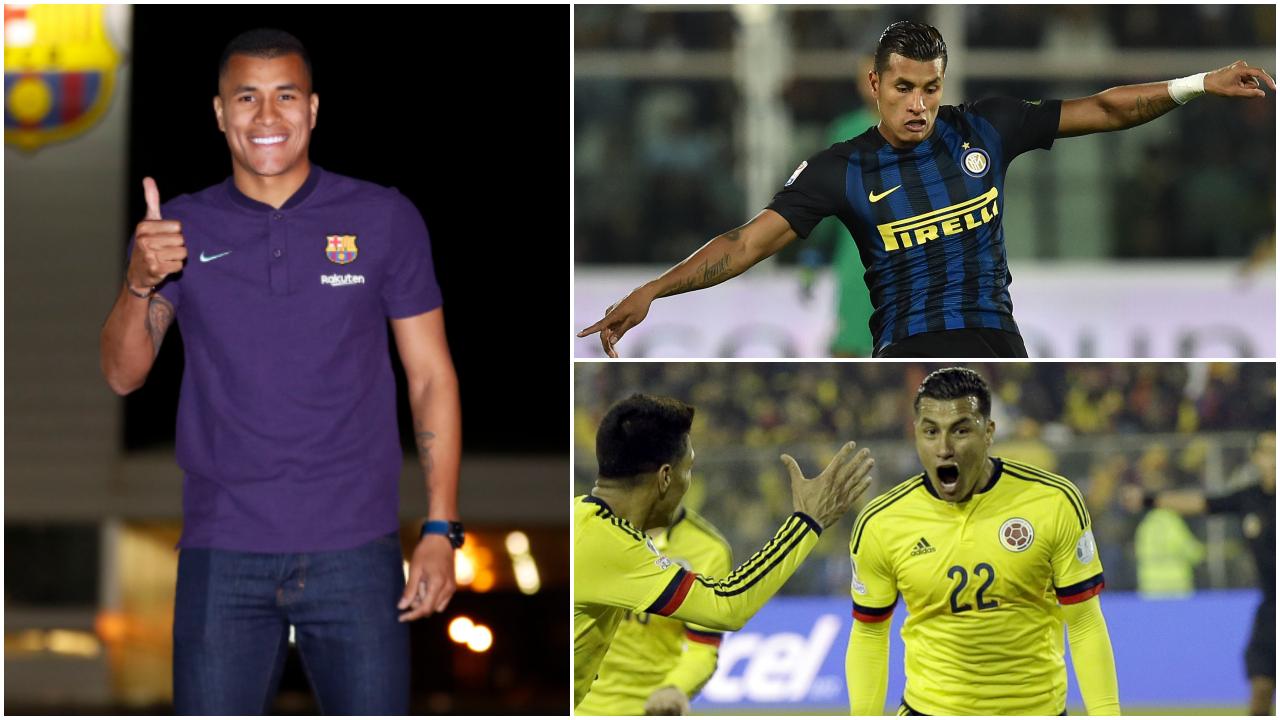 El camino de Jeison Murillo hasta cumplir el sueño de jugar en el Barcelona