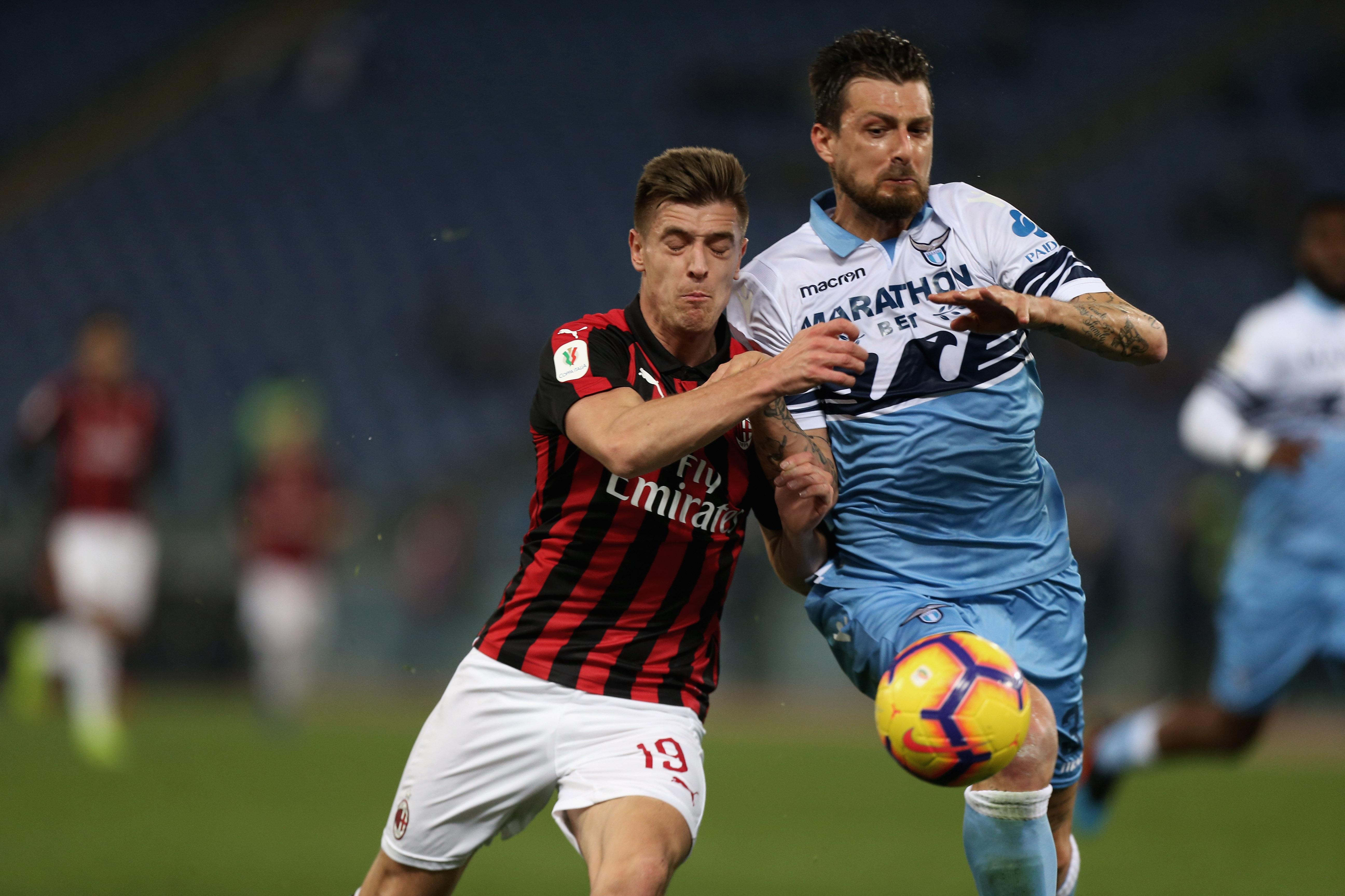 En fotos: Lazio y Milán empataron sin goles en la ida de la Semifinal de la Copa Italia