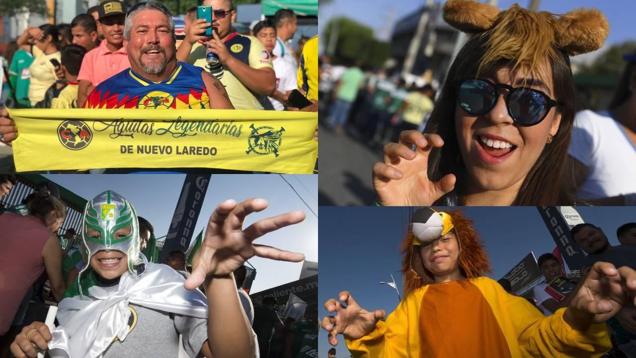 Los fanáticos con alta expectativa para la definición entre León y América