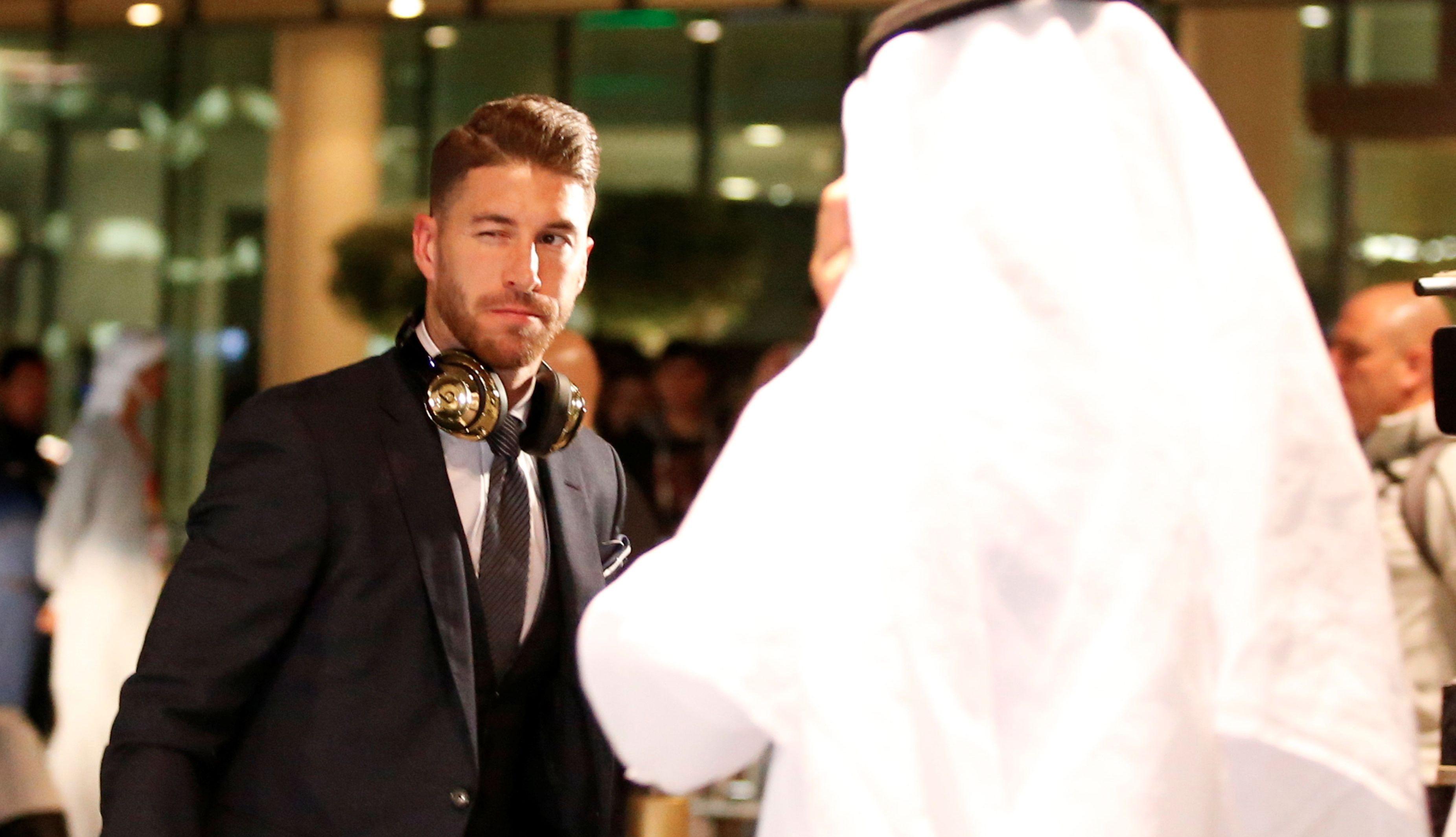 La llegada del Real Madrid a Emiratos Árabes Unidos para defender el Mundial de Clubes