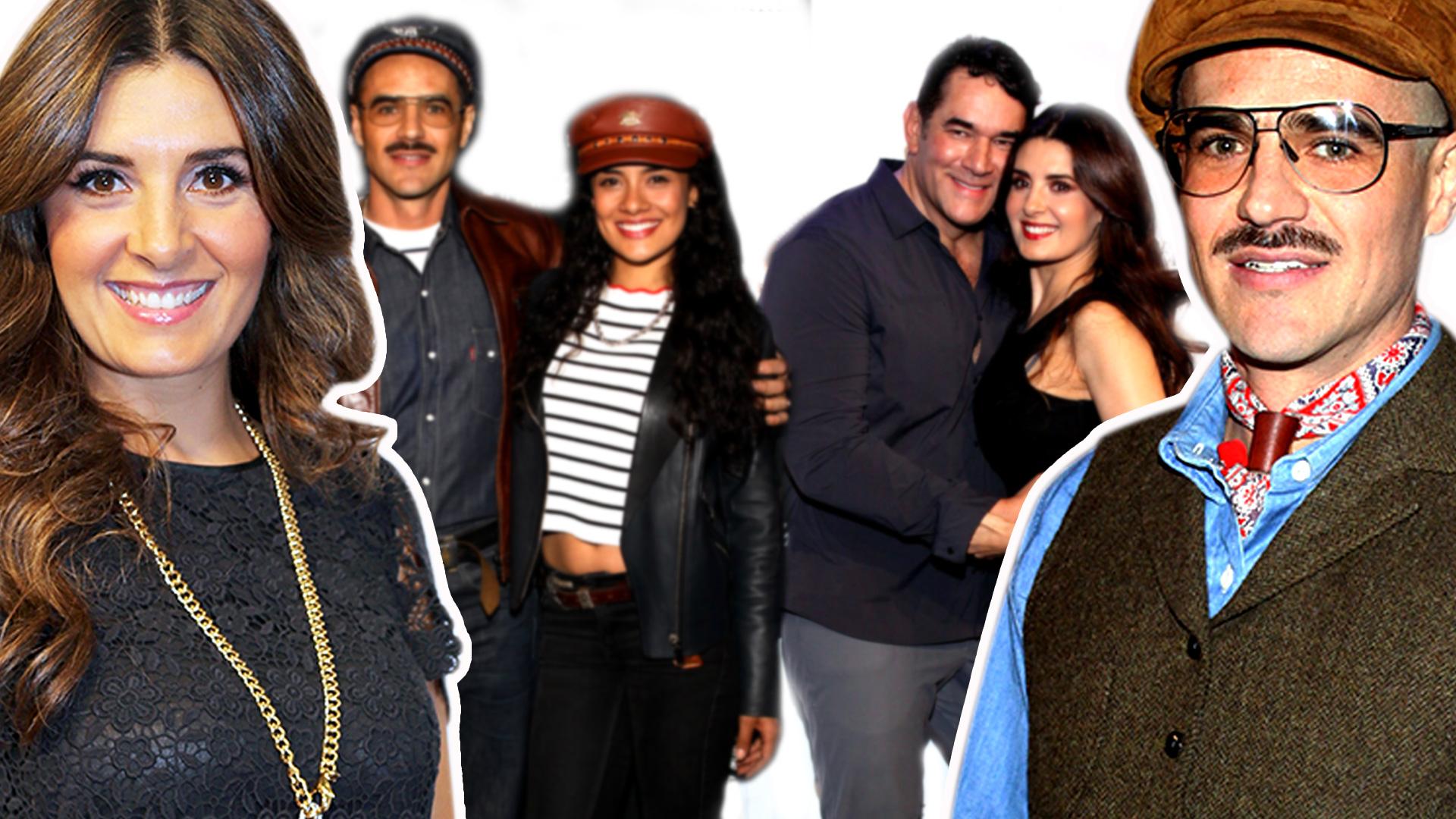 Felices los 4: Jorge Poza se aparece en una alfombra roja con su ex Mayrín Villanueva y la novia (faltó Eduardo)