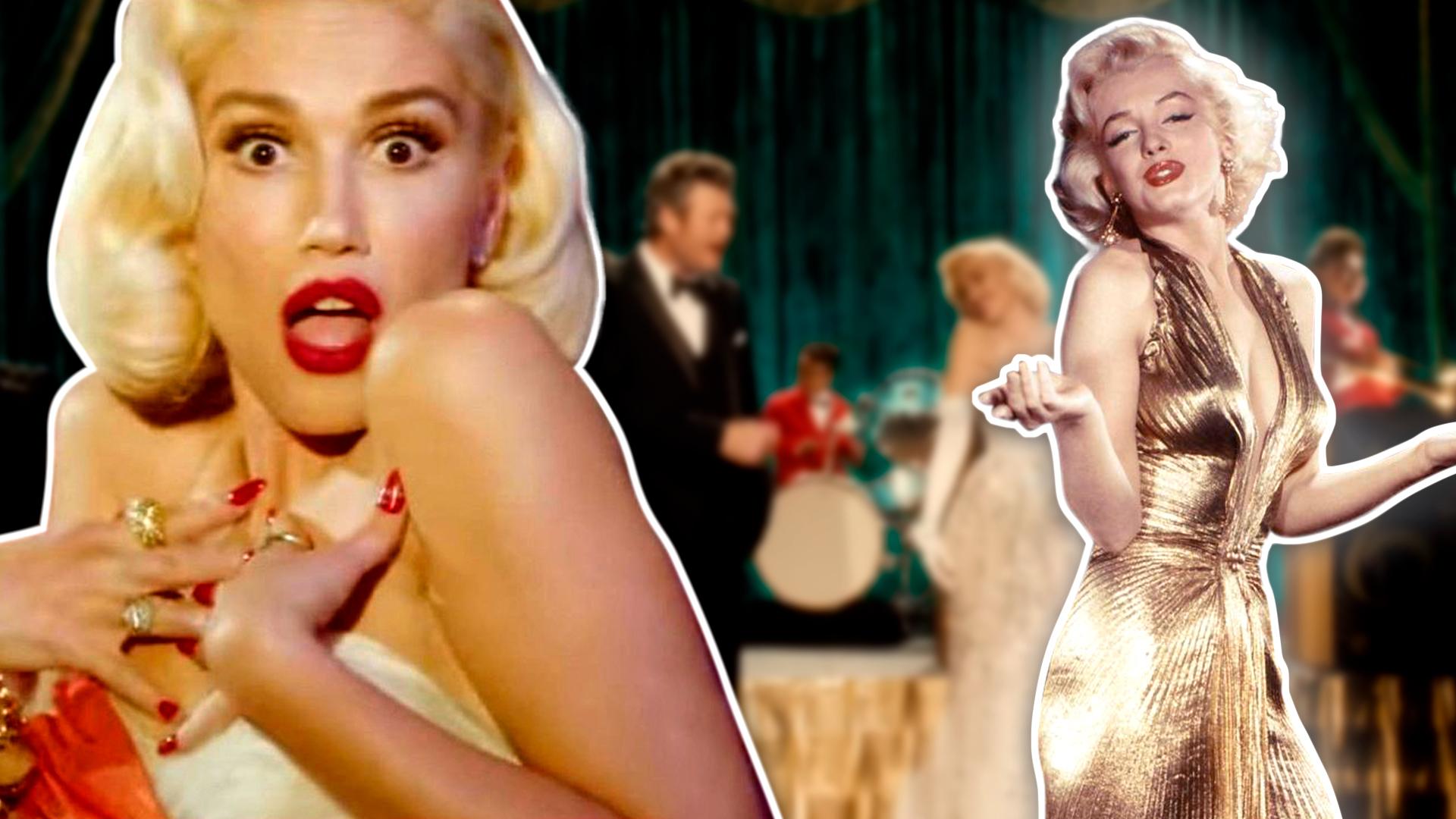 Gwen Stefani se convierte en Marilyn Monroe para un video navideño
