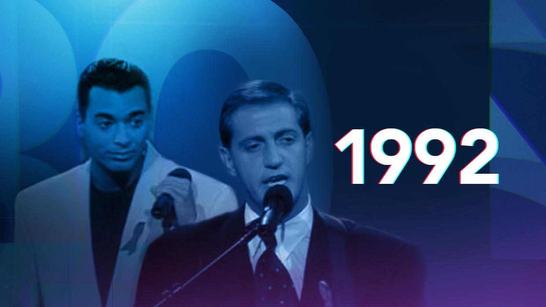 Ricky Martin, Selena y los abanicos de Locomía: así fue la cuarta edición de Premio Lo Nuestro en 1992