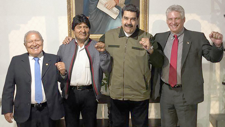 La soledad de Nicolás Maduro: solo 6 presidentes fueron a su juramentación y 2 de ellos no tienen países formales