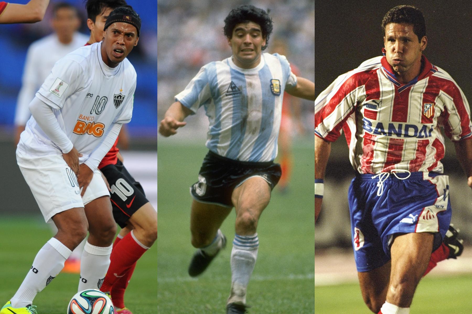 Cracks de grandes logros que dejaron una 'deuda pendiente' en su carrera futbolística