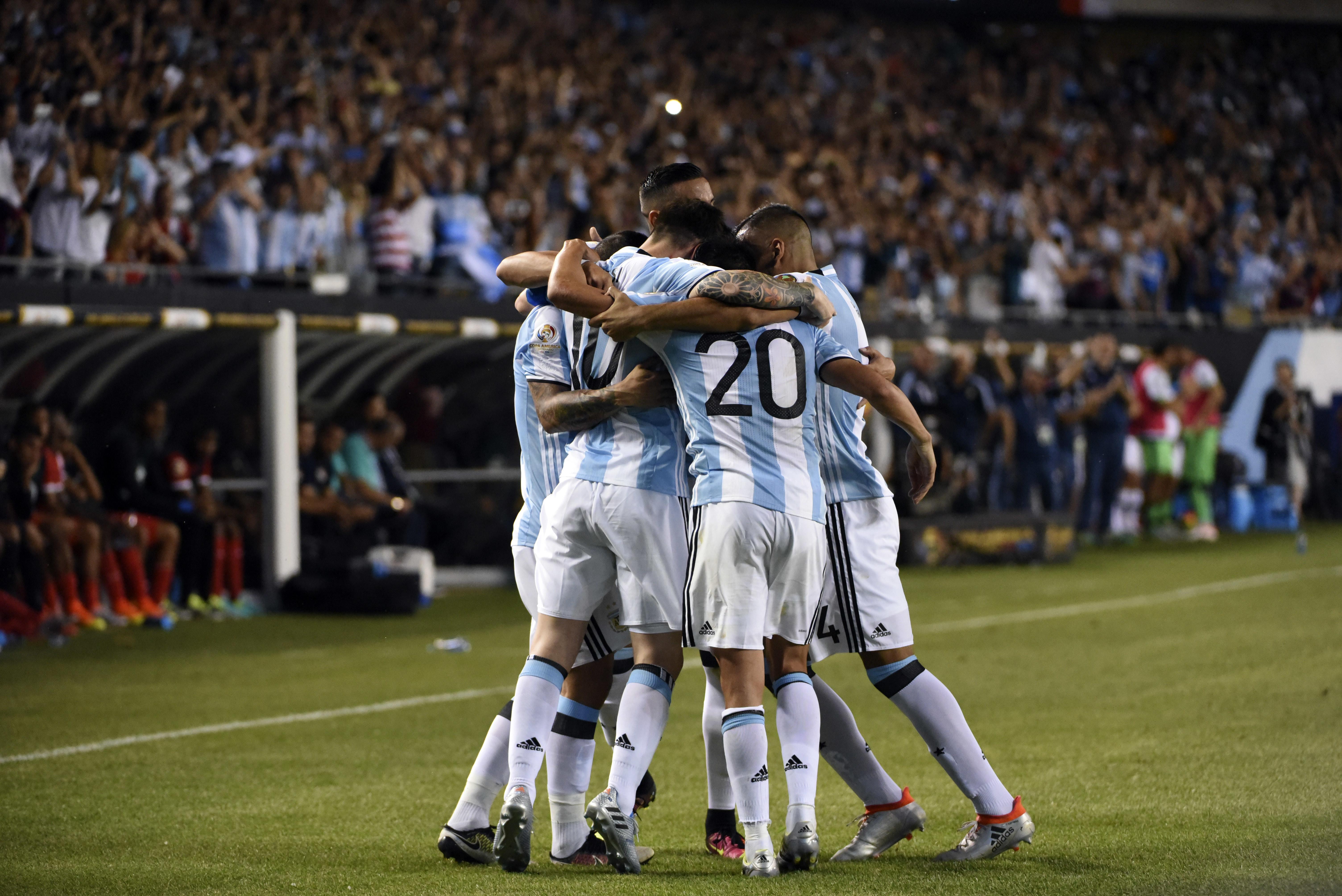 El ranking de los jugadores de Argentina vs Panamá