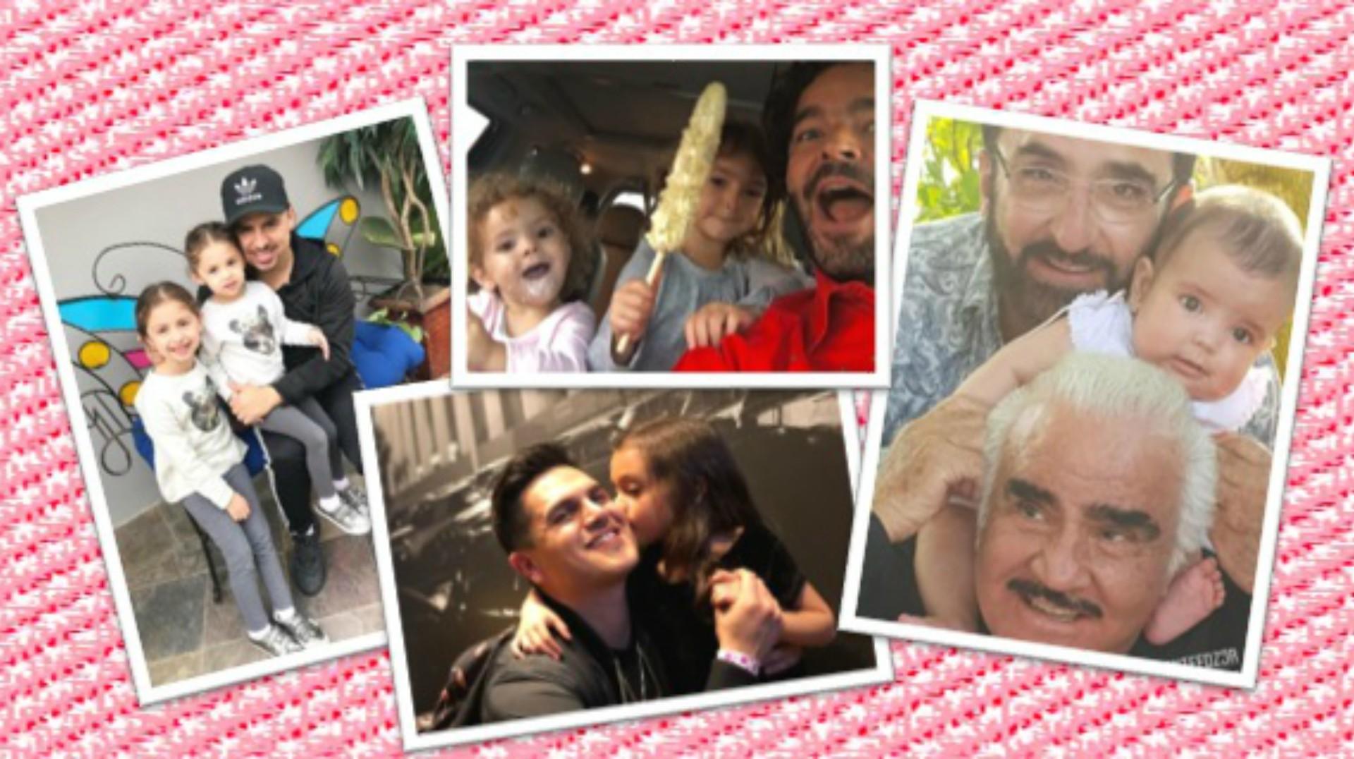 Larry Hernández, Pablo Montero y Edwin Luna, estos cantantes de regional mexicano están enamorados de sus 'princesitas'