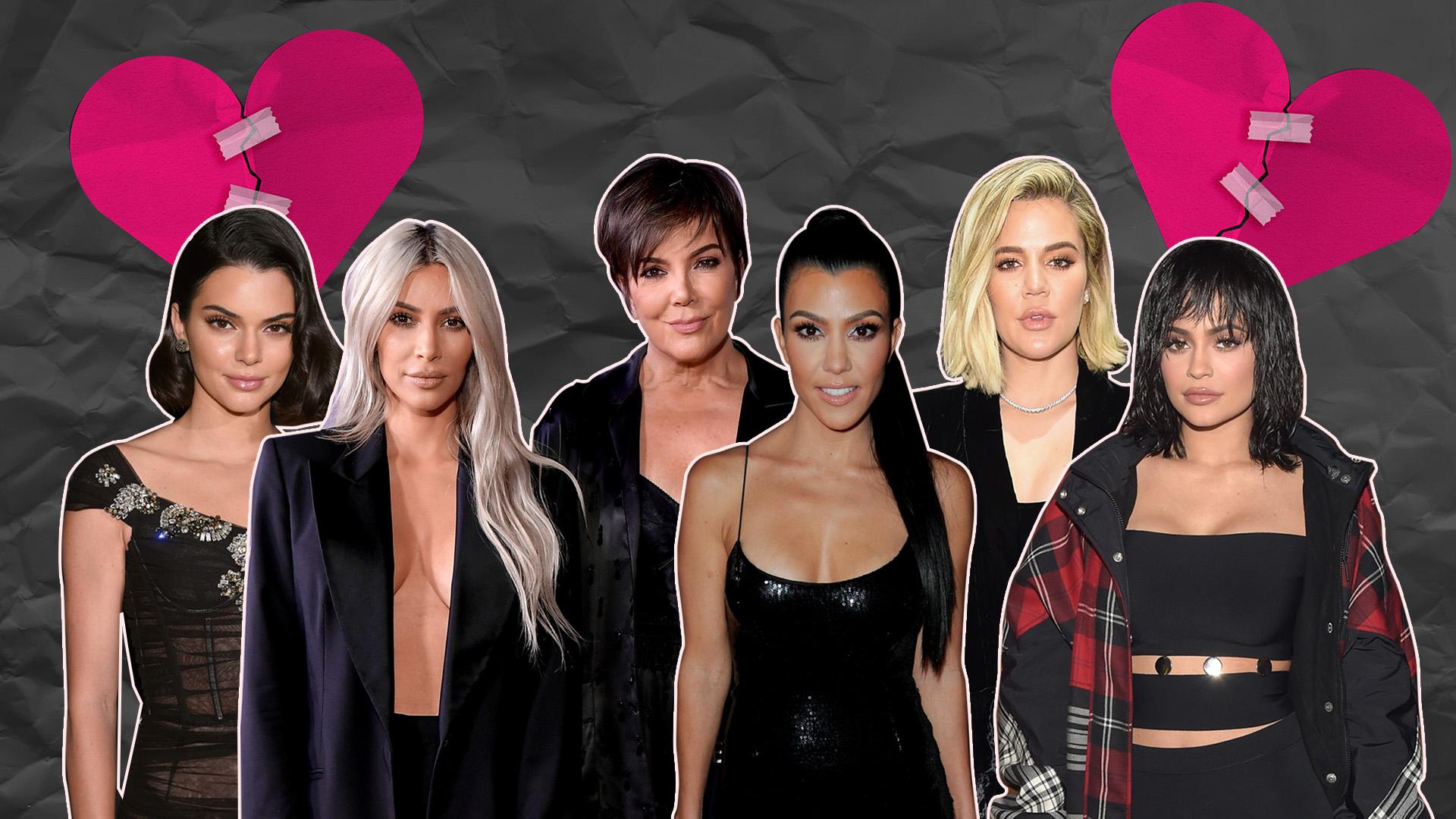 Si alguien sabe cómo superar una infidelidad o un lío amoroso, esas son las Kardashian