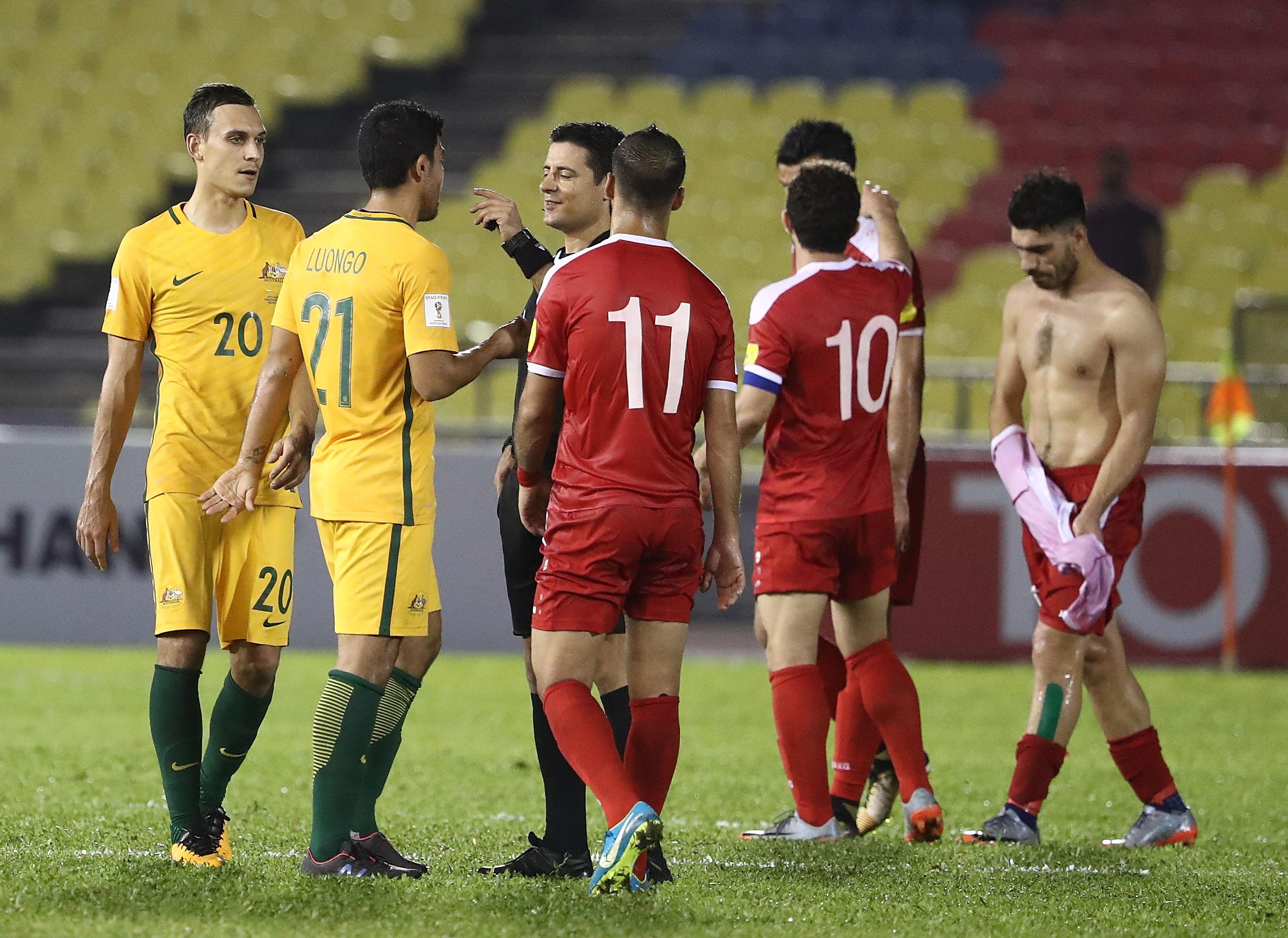 Siria y Australia empatan y dejan en vilo el rival asiático de repechaje para Concacaf