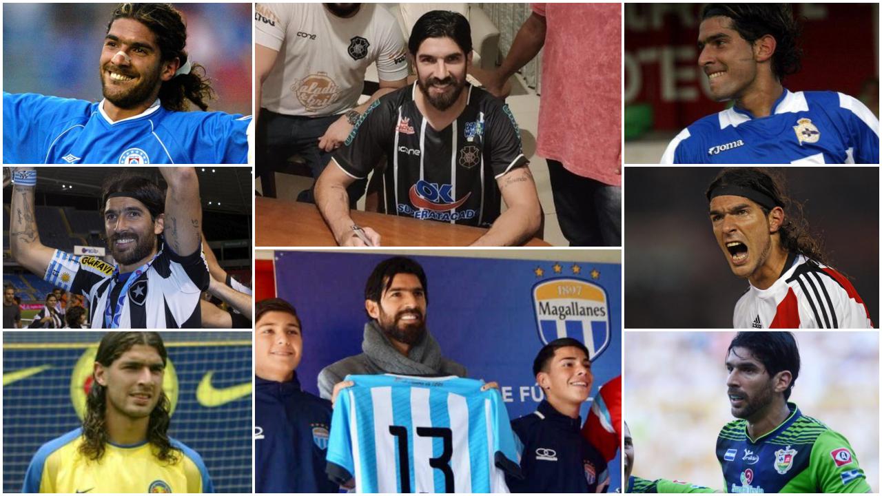 De Uruguay, México, Israel, entre otros: La enorme colección de equipos del 'Loco' Abreu sigue creciendo