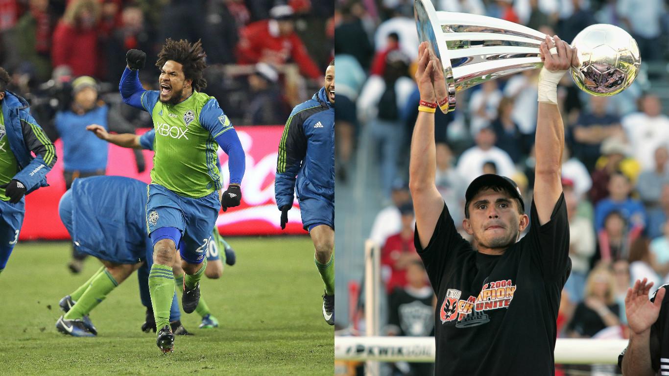 Carlos 'El Pescado' Ruiz, 'El Pibe' Valderrama y Román Torres, algunos de los latinos que fueron campeones en la MLS