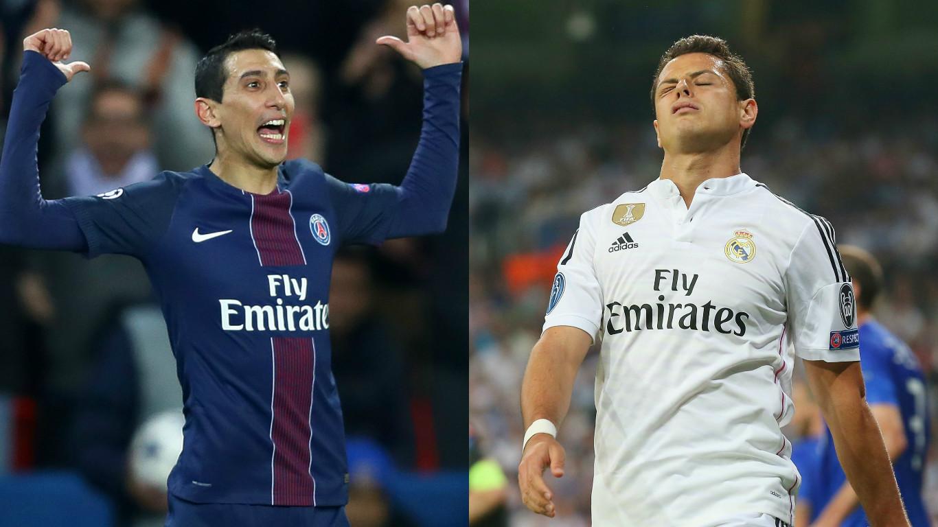 Di María, 'Chicharito' y otros grandes futbolistas que resurgieron luego de malas rachas