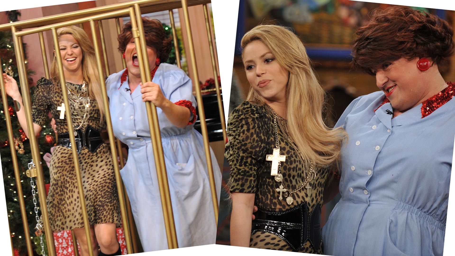 #TBT: Recordamos el día que Shakira y Doña Meche aullaron como 'lobas'