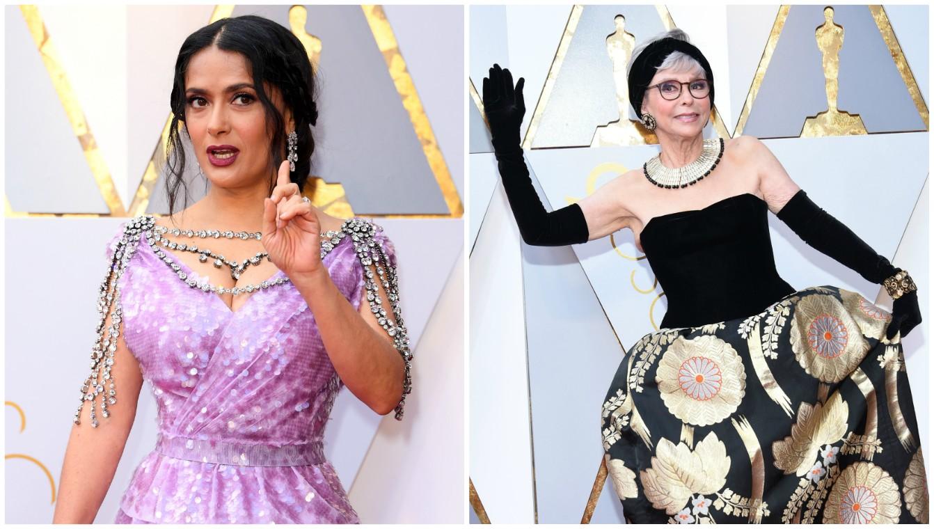 Los mejor y peor vestidos en los premios Oscar 2018