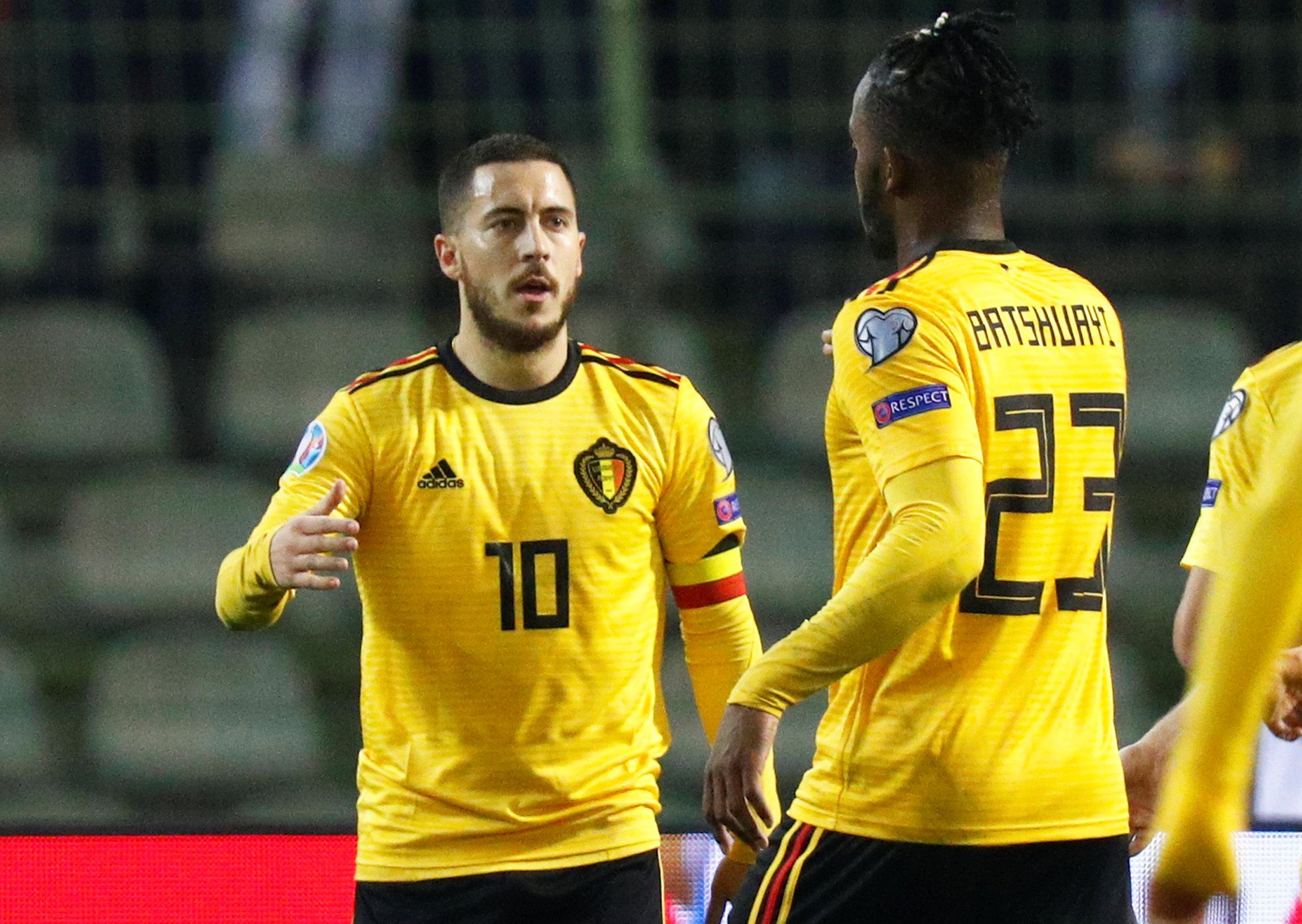 En fotos: Bélgica arrancó con pie derecho su camino a la Eurocopa con triunfo contra Rusia