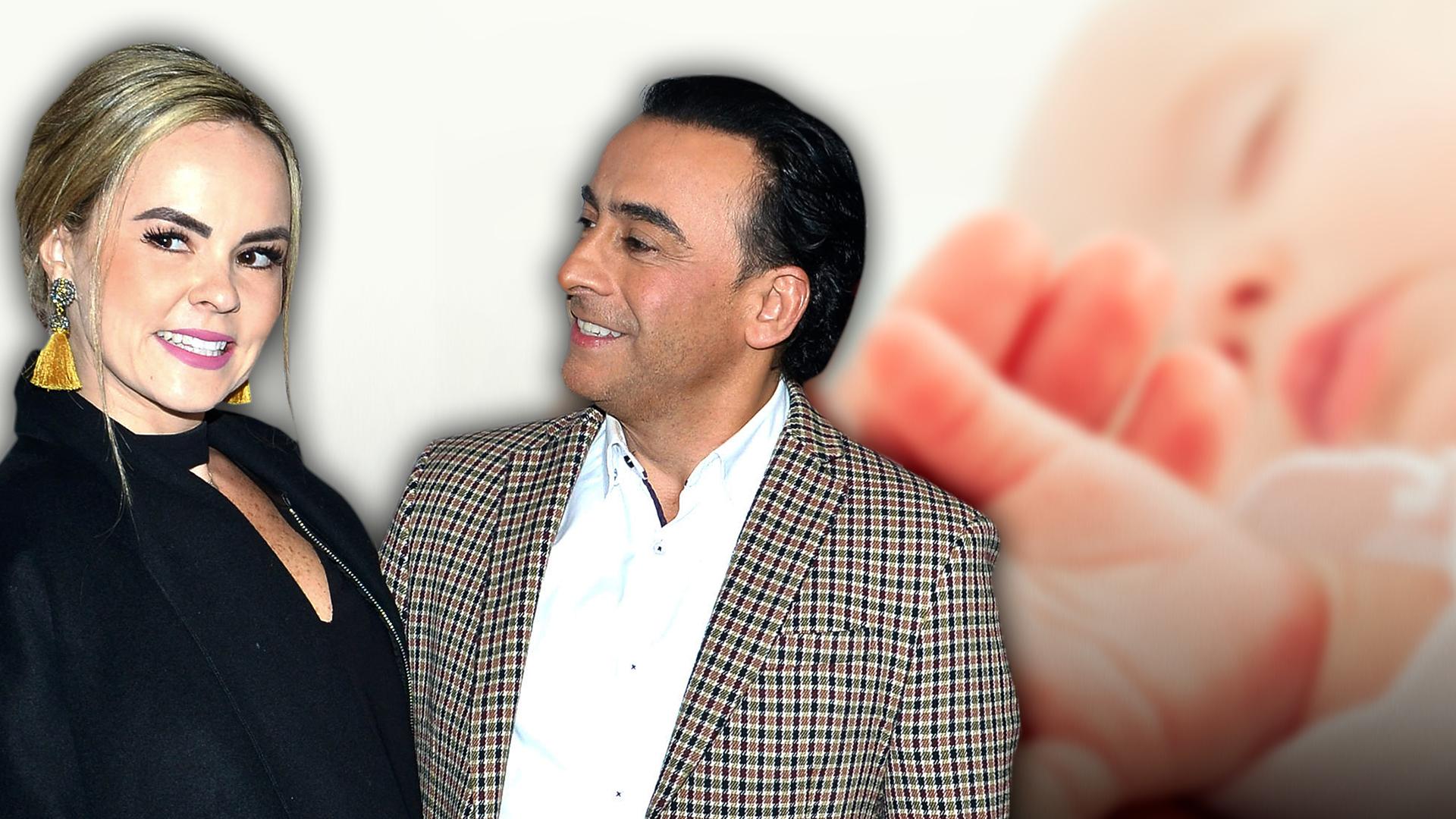 """Nace el bebé de Adal Ramones y Karla de la Mora: """"Sano al 100 por ciento"""""""