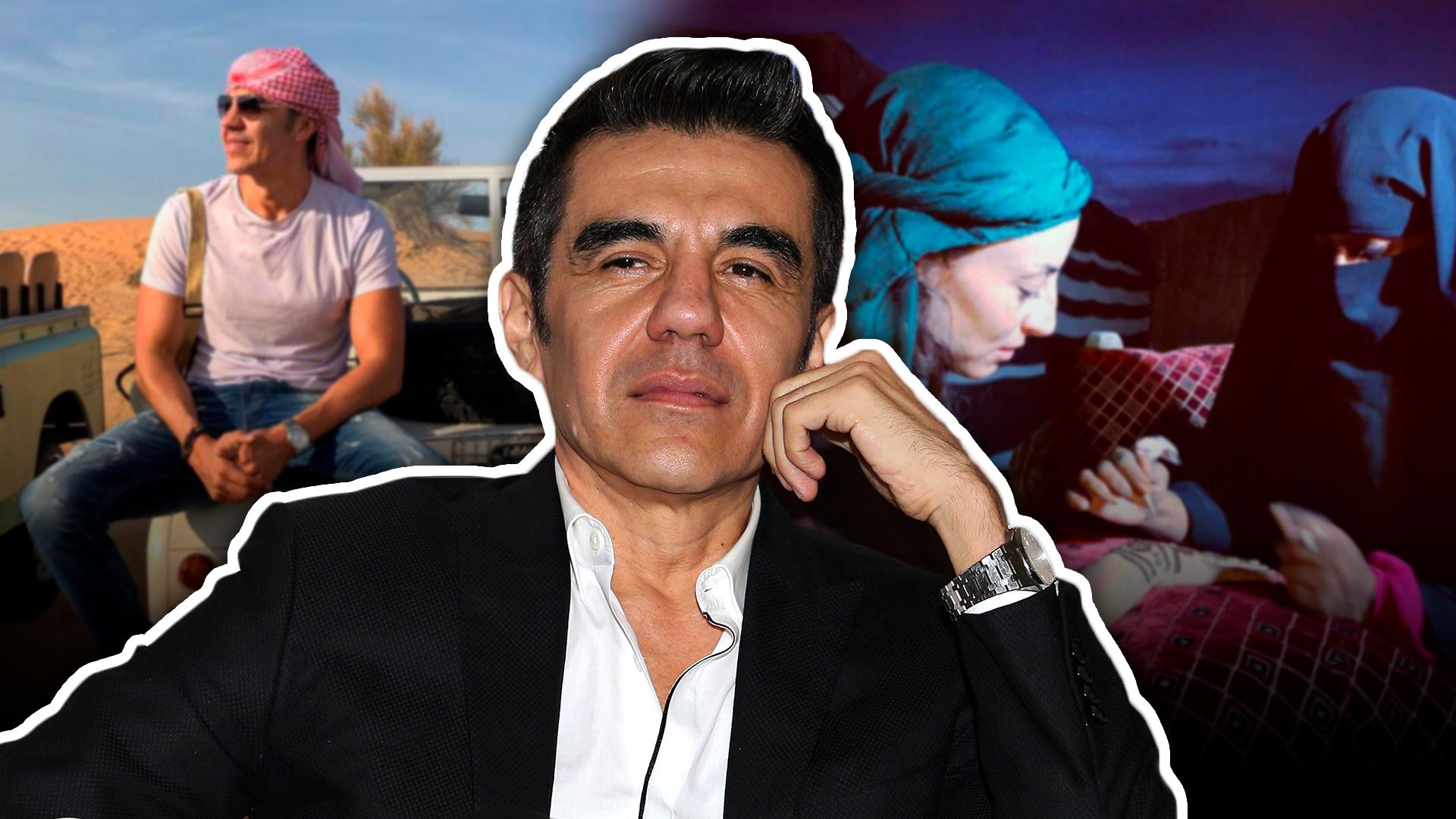Le preguntamos a Adrián Uribe sobre sus supuestas vacaciones con Marimar Vega y por primera vez habló del tema