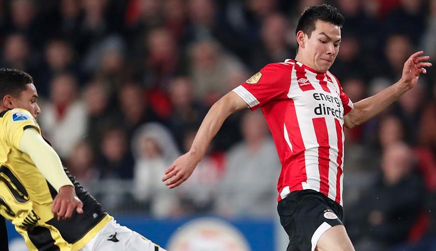 En fotos: 'Chucky' Lozano puso una asistencia y el PSV extendió su invicto en la Eredivisie a 11 partidos