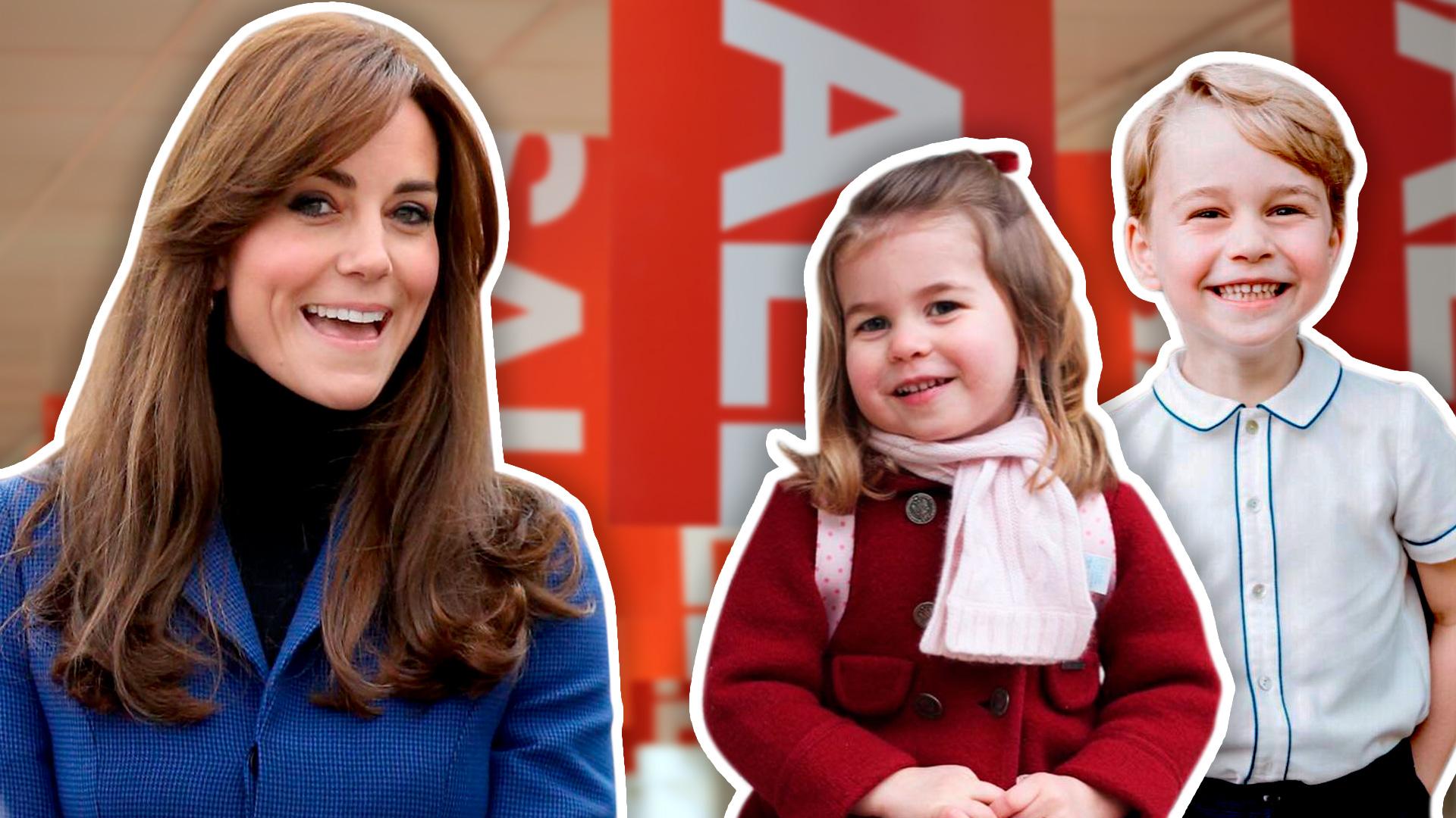 Kate Middleton fue de compras navideñas con sus hijos a una tienda de descuentos