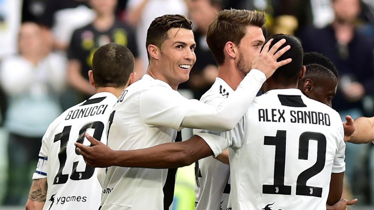 En fotos: Juventus venció en casa a la Fiorentina y se coronó campeón una vez más de la Serie A