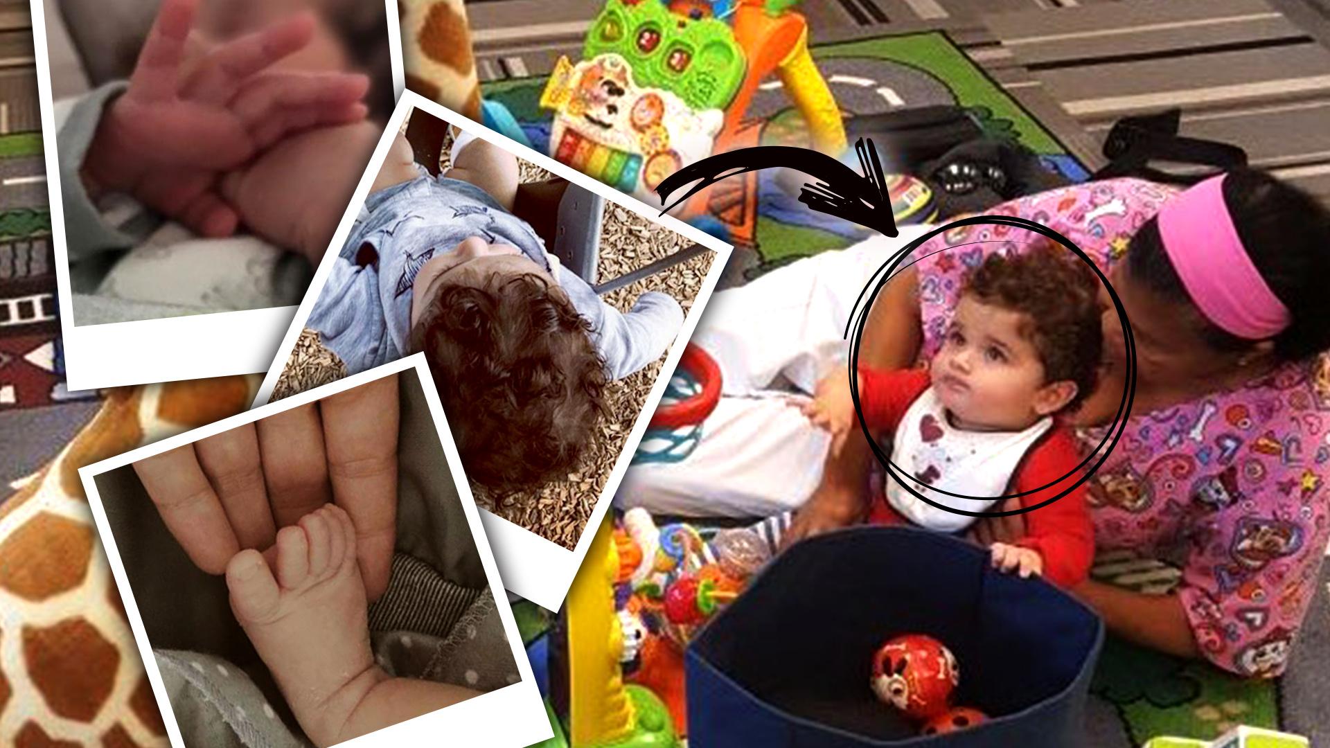 Después de 9 meses, Danna García muestra el rostro completo de su bebé