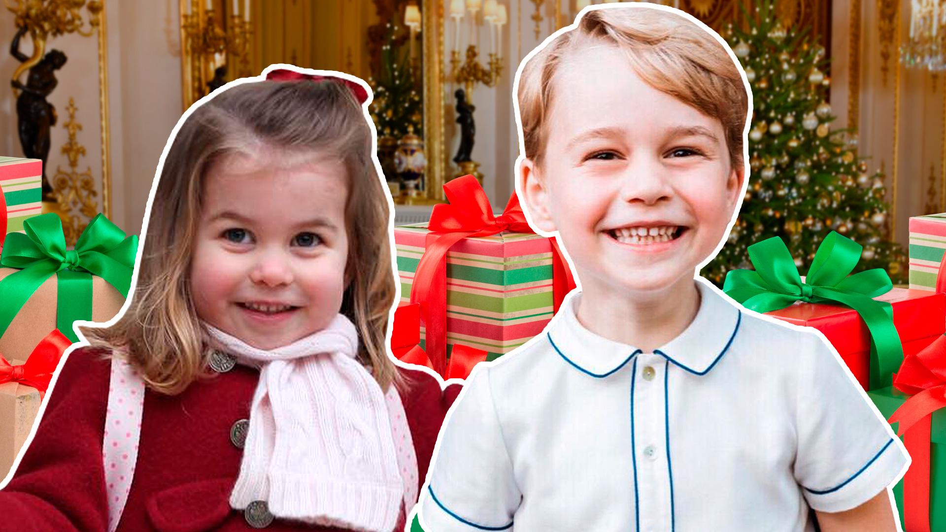 Los príncipes George y Charlotte rompieron la tradición navideña, confirmó Kate Middleton
