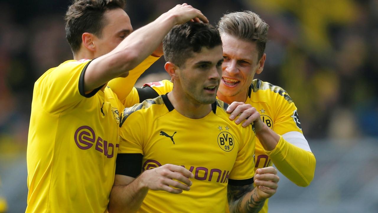 En fotos: Pulisic se despidió del Signal Iduna Park con gol y el Dortmund mantuvo el sueño de título