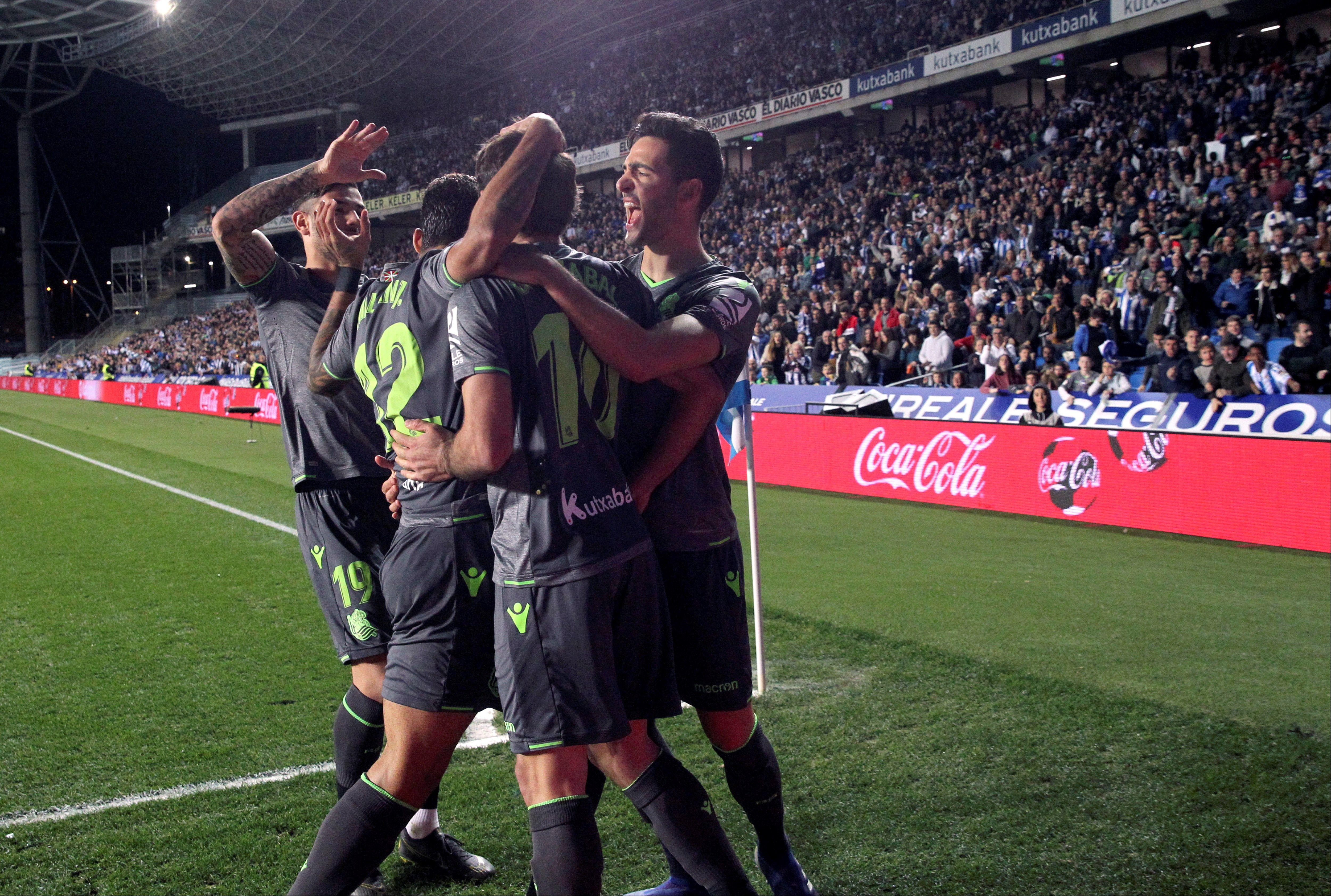 En fotos: sin mexicanos en cancha, Real Sociedad derrotó 3-0 a Leganés en España