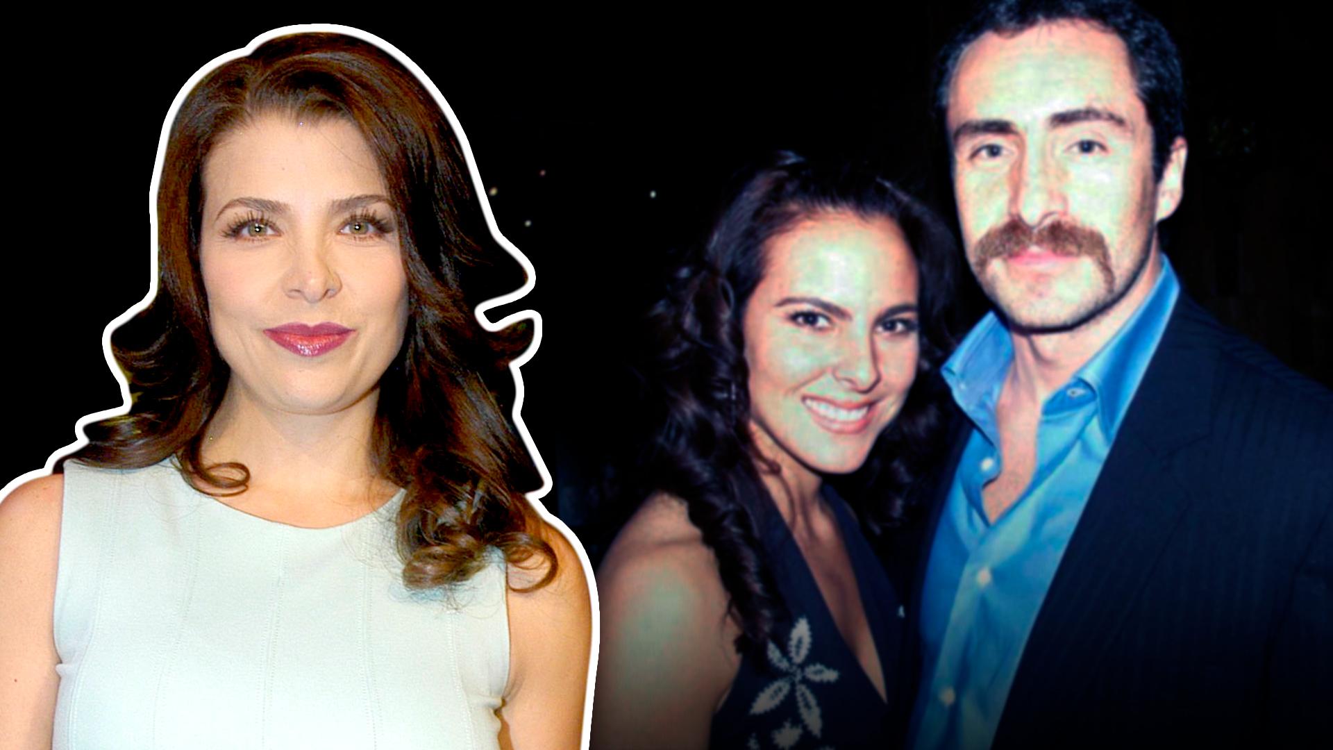 """""""Estoy enamorado de las dos"""": Lisset prefirió el divorcio a compartir a Demián Bichir con Kate del Castillo"""
