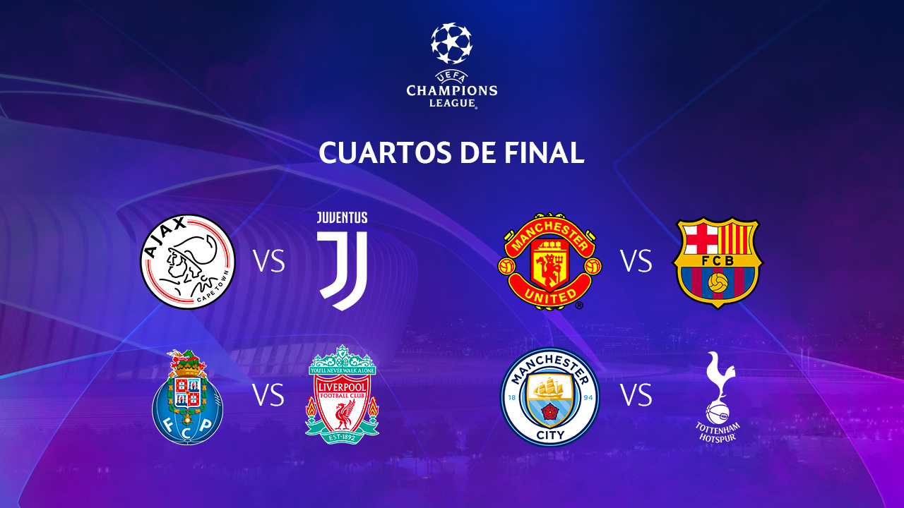 De alarido: quedaron definidos los Cuartos de Final de la Champions ...