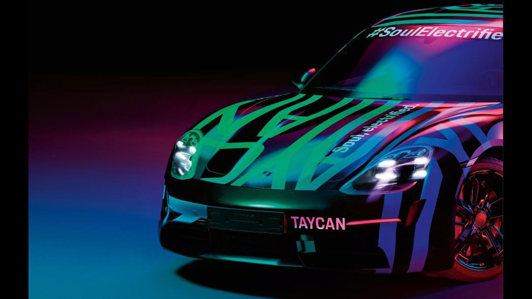 Porsche mostró un adelanto del Taycan, su próximo carro eléctrico