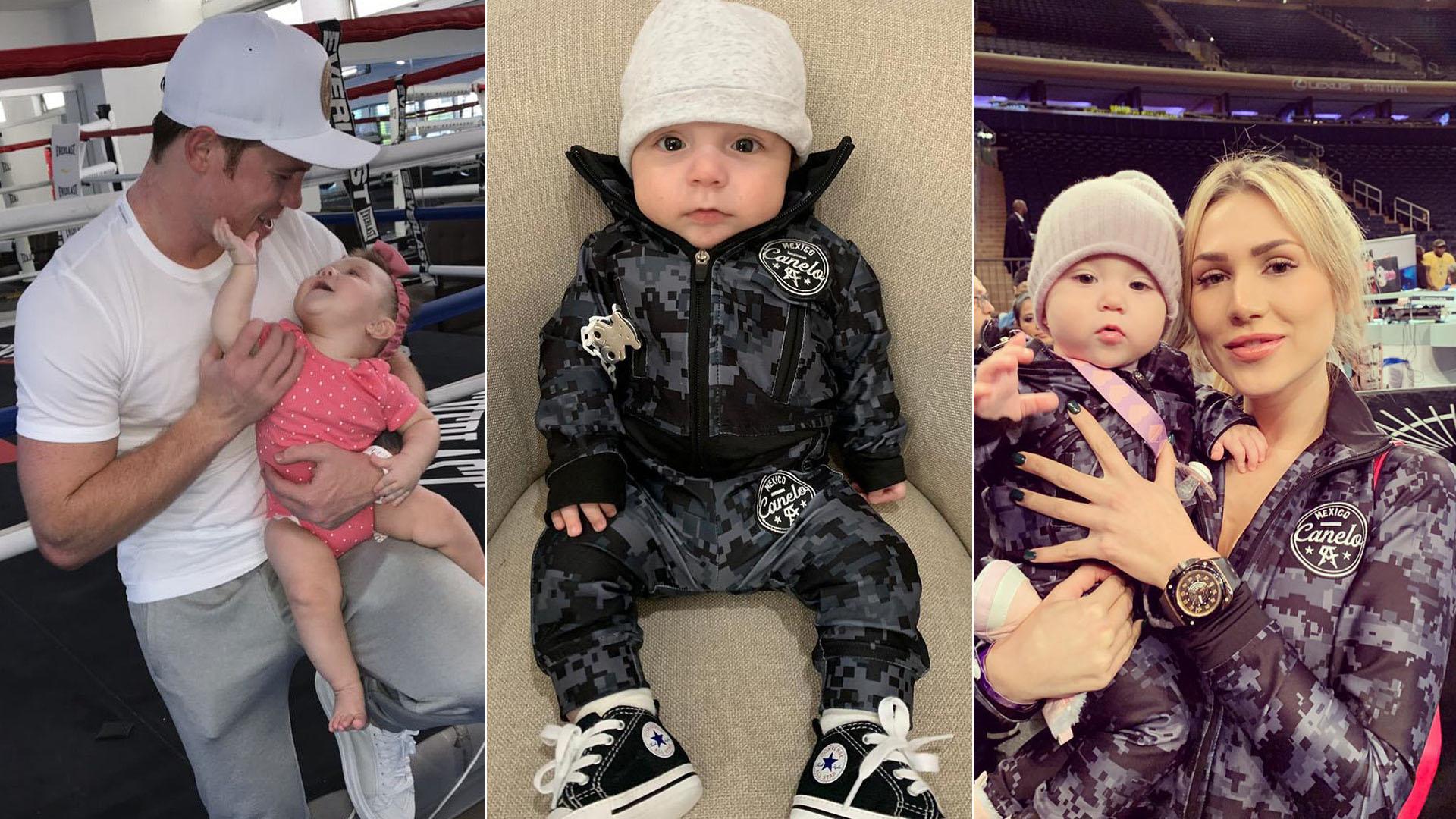 EN FOTOS: La inusual historia de cómo Saúl 'Canelo' Álvarez se convirtió en padre cuatro veces