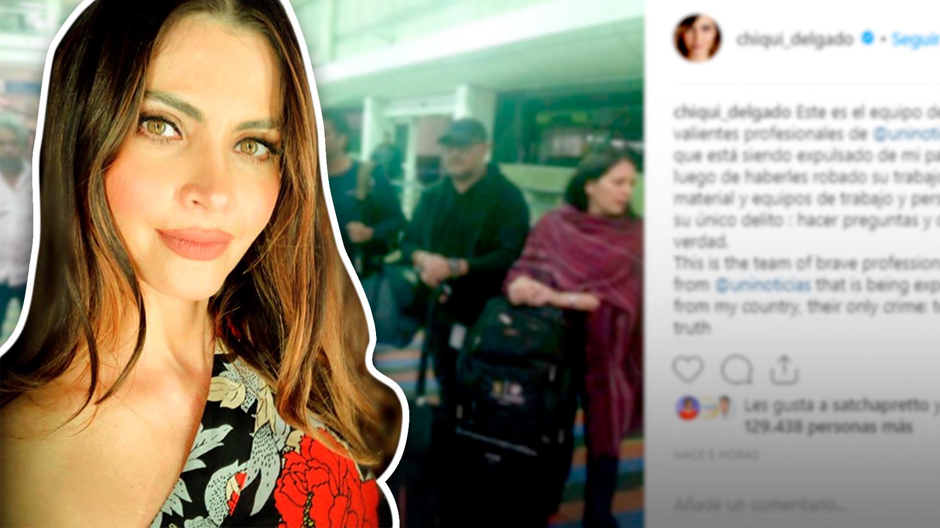 Chiquinquirá Delgado reacciona a la detención de Jorge Ramos y el equipo de Univision Noticias en Venezuela