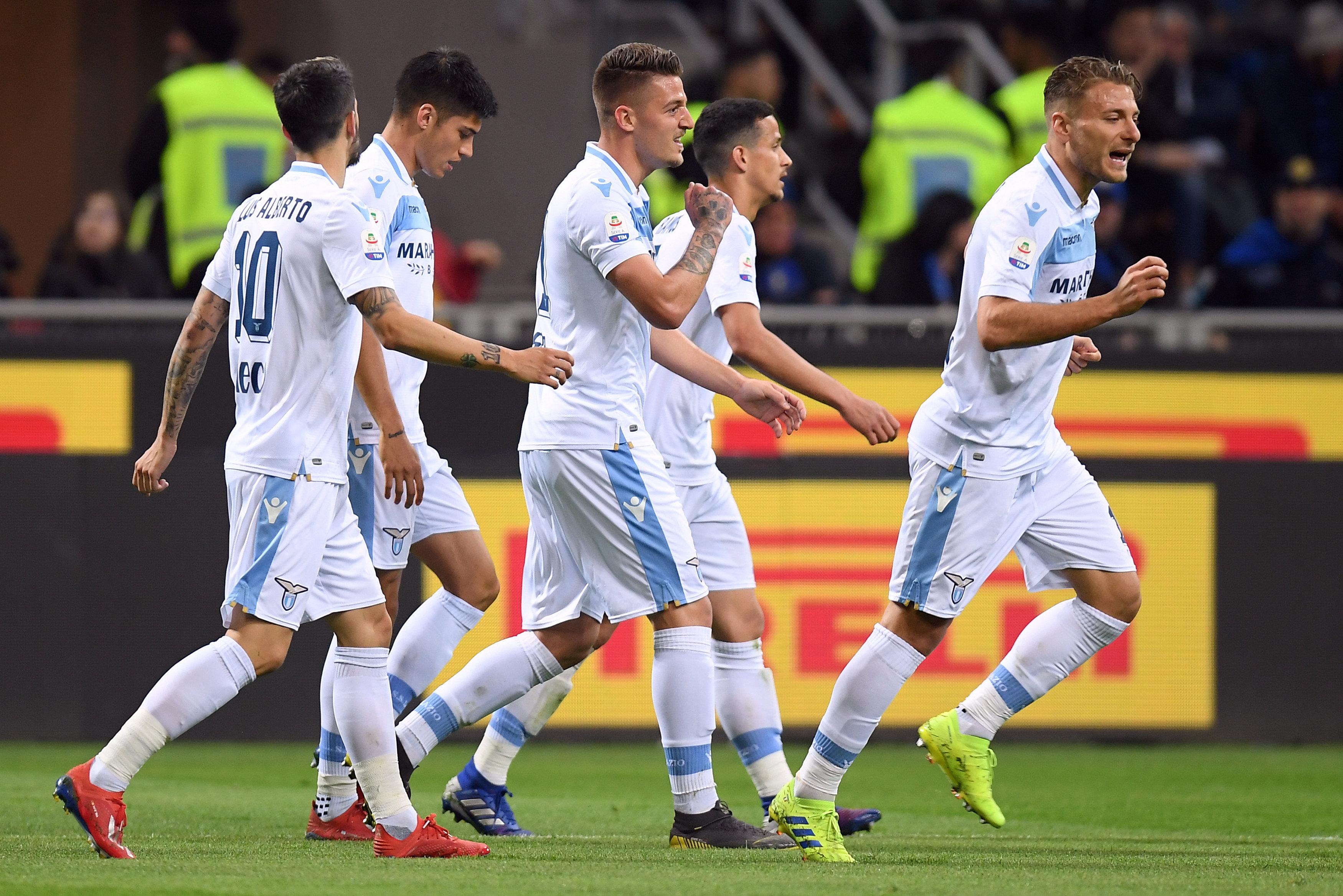 En fotos: sin Mauro Icardi el Inter cae como local ante la Lazio que sigue en buena racha
