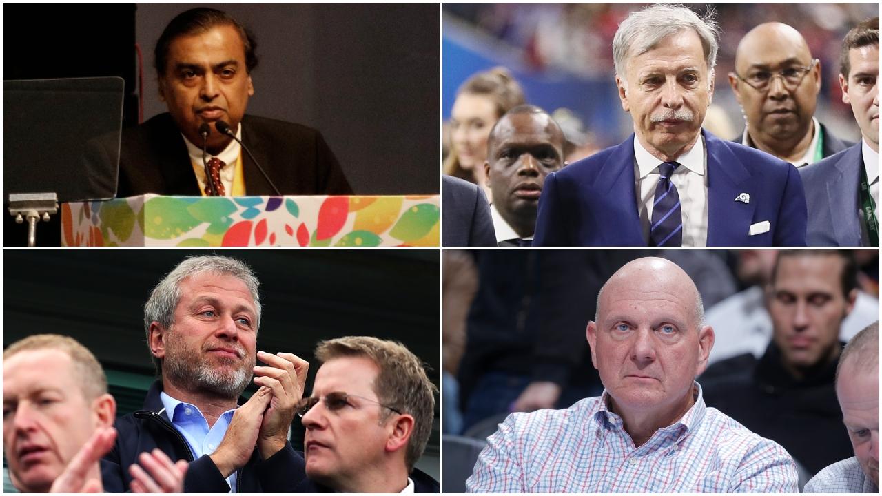 Los magnates del deporte: el top 10 de los empresarios más ricos del mundo