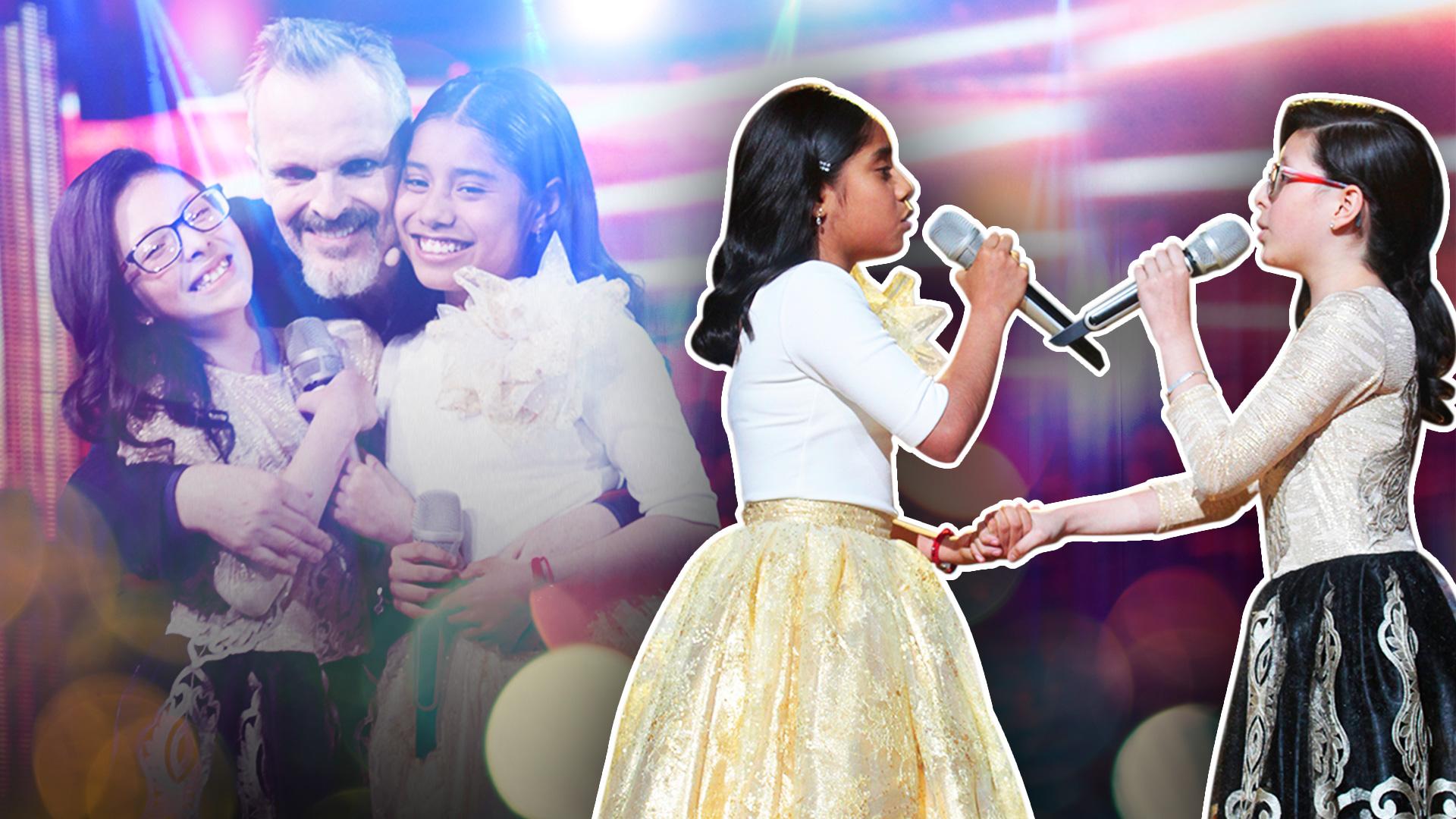 """Este vibrante dueto entre Adilene y Taisia quiebra a Miguel Bosé: """"Ya me la anularon"""", confesó"""