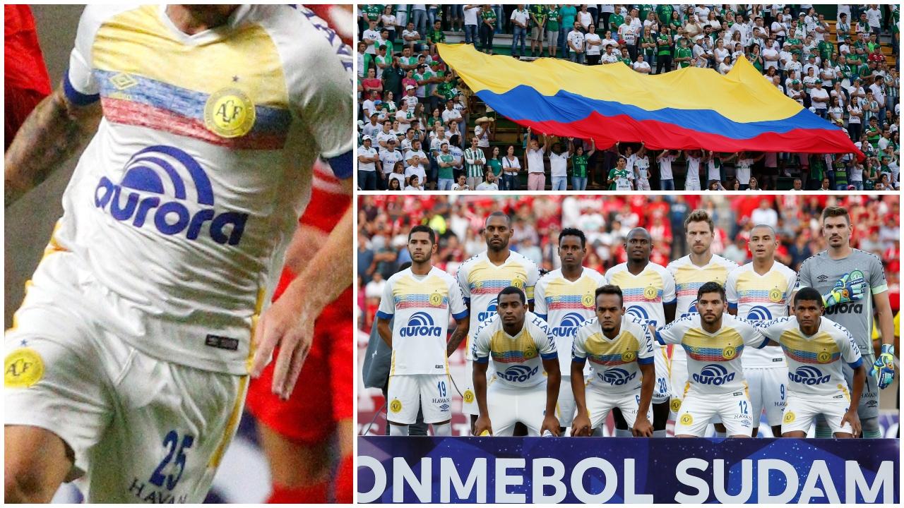 Después de un año de ausencia, Chapecoense regresó a la Copa Sudamericana con una playera muy especial