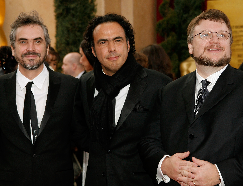 Del Toro, Iñárritu y Cuarón: mexicanos, amigos y ganadores del Oscar de mejor director
