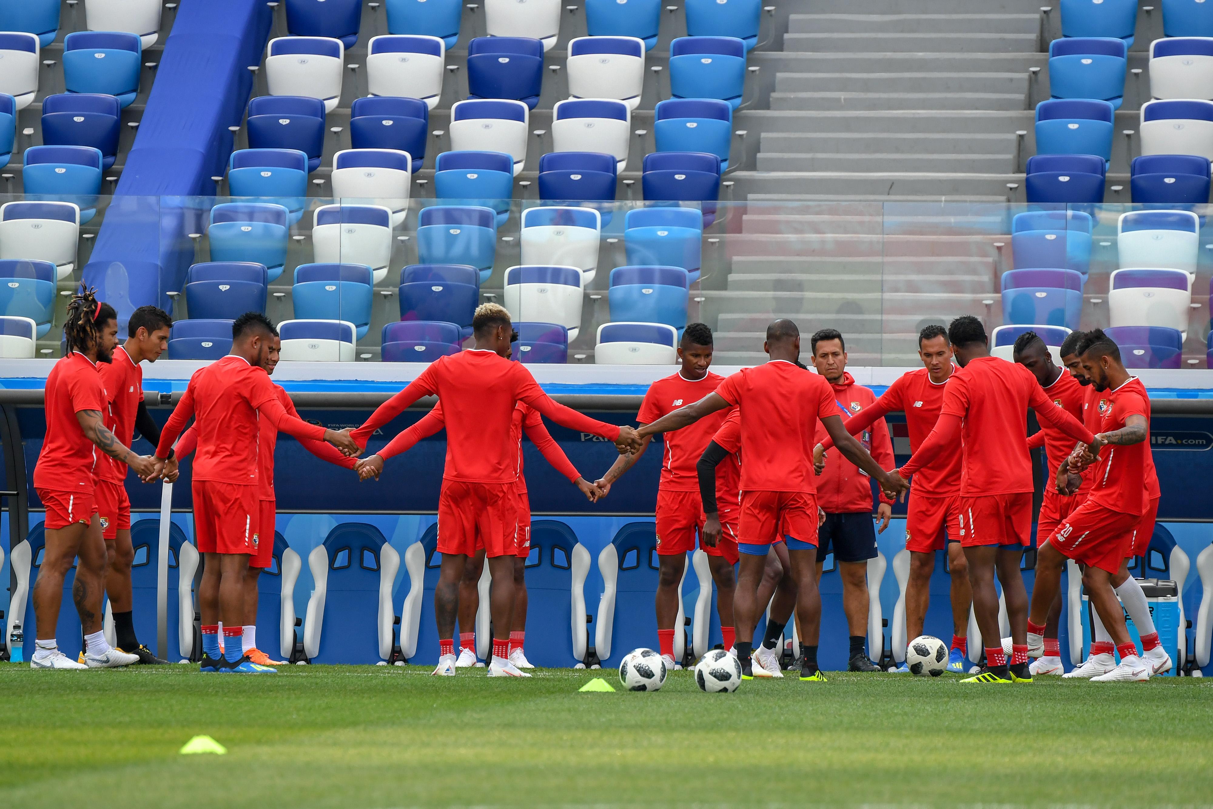 En fotos: Panamá desea brillar este domingo contra Inglaterra