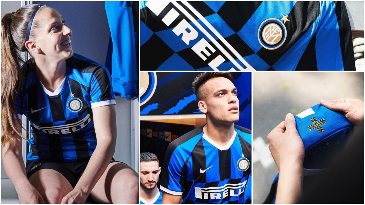 Ya es oficial el nuevo jersey del Inter de Milán: estos son sus llamativos detalles