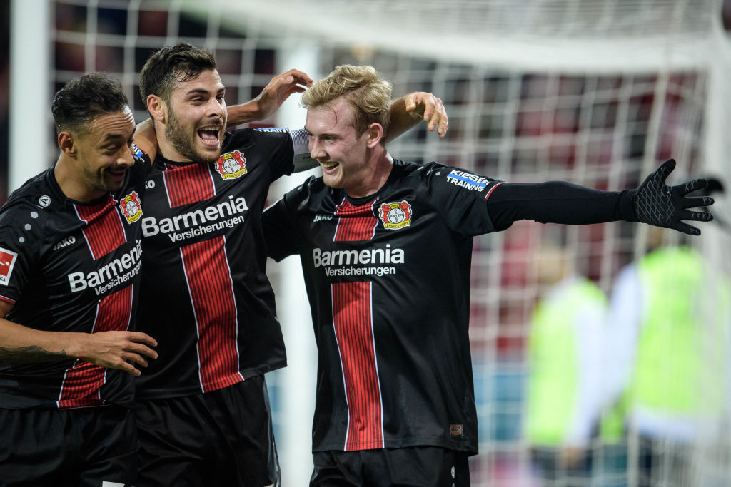 En fotos: Bayer Leverkusen no tuvo piedad en su visita al Mainz 05