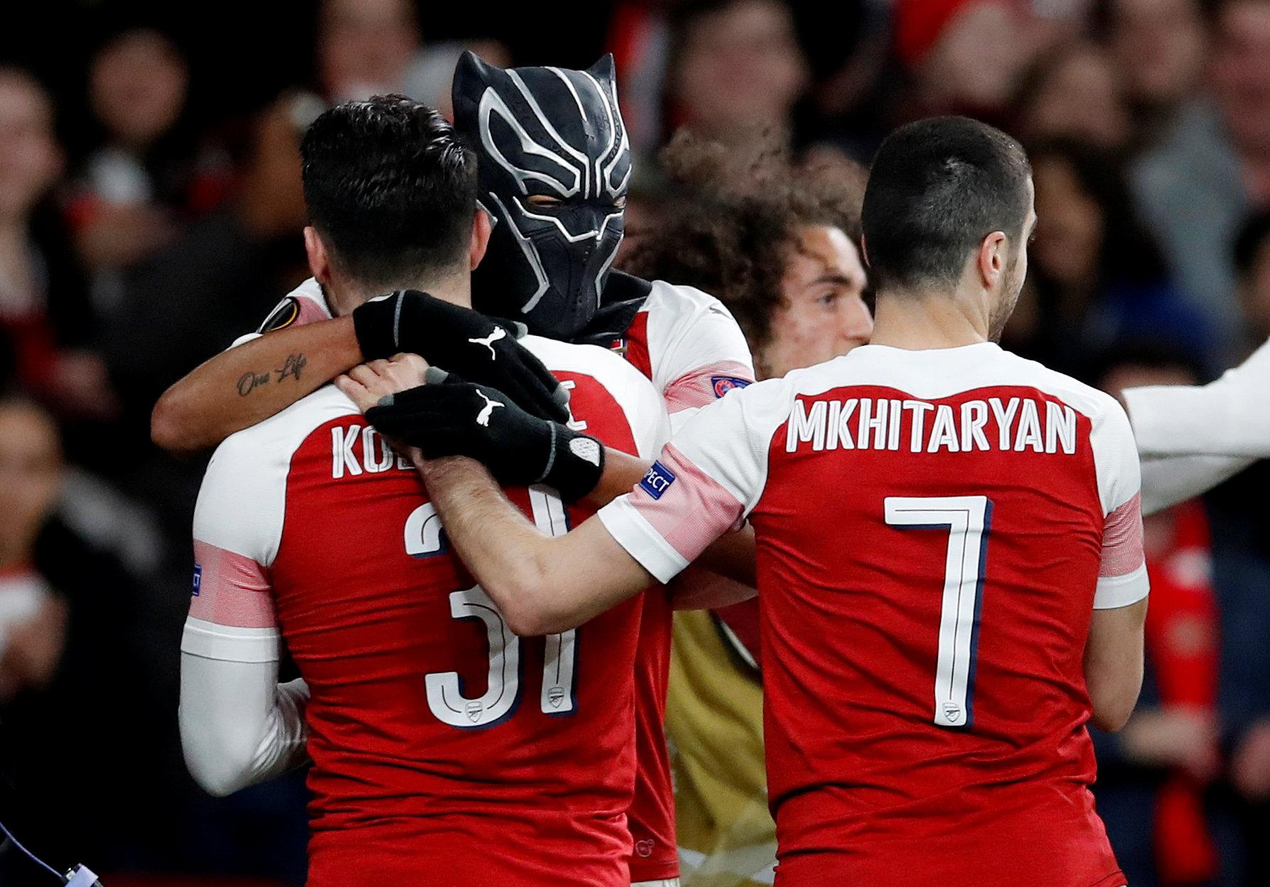 En fotos: Arsenal demuestra su grandeza y ya está en Cuartos de Final de Europa League