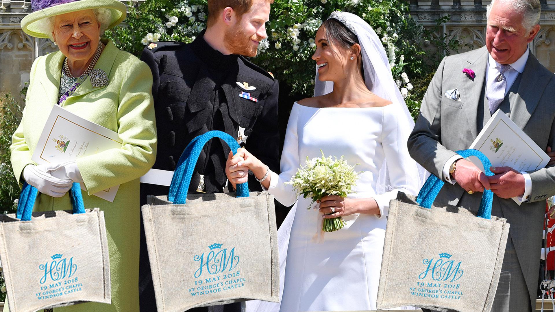 75e7ab09033 Bolso (goody bag) con recordatorios de la boda de Harry y Meghan se vende en  eBay por 28,566 dólares | Estilo de Vida | Univision