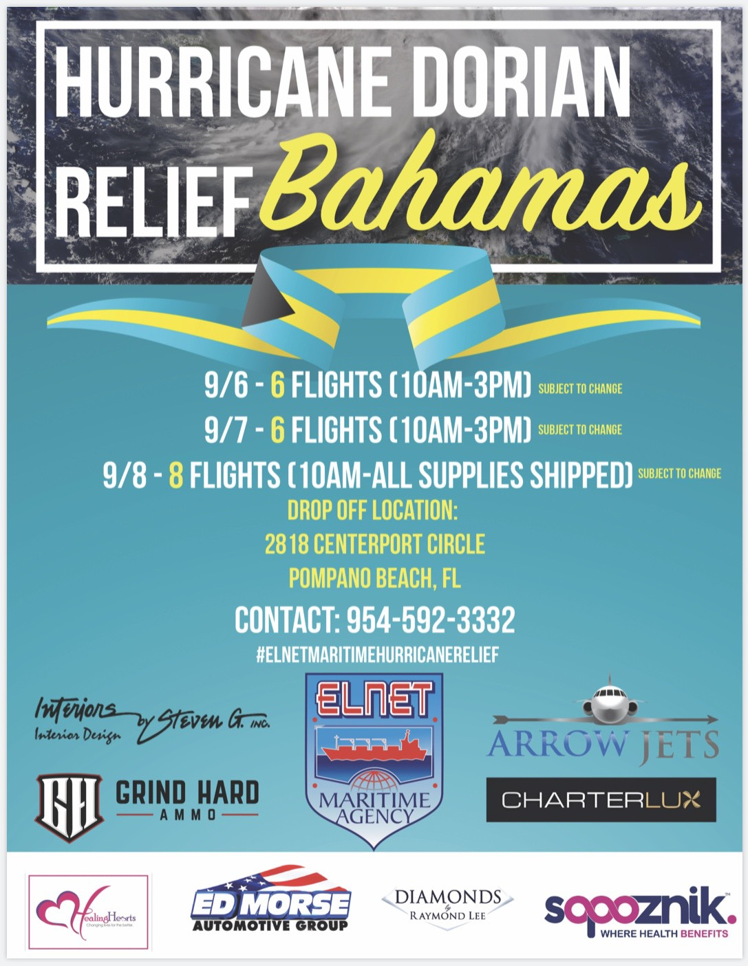 South Florida prepares to help the Bahamas, once Dorian's