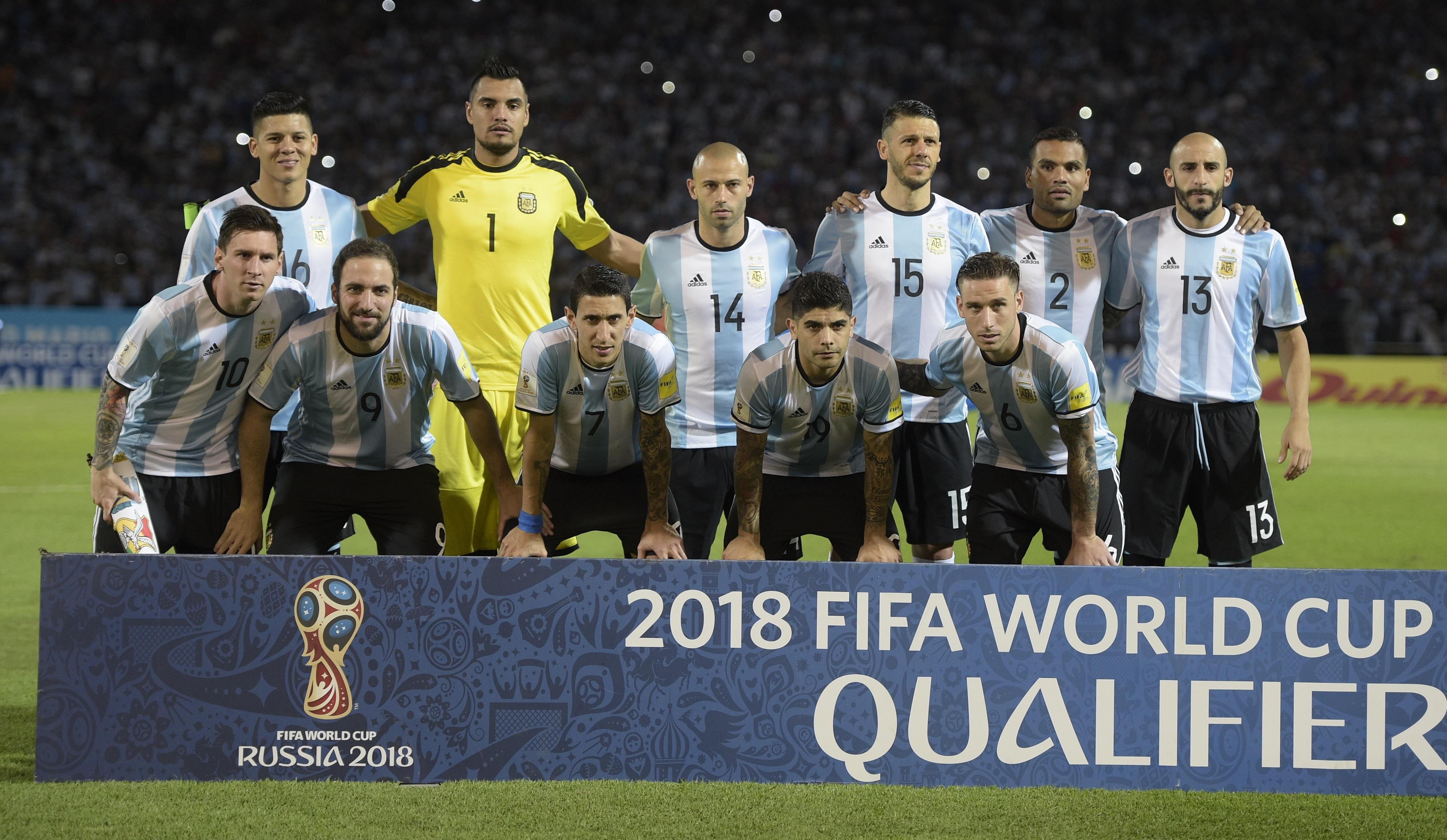 Los rostros de Argentina en la Copa América Centenario