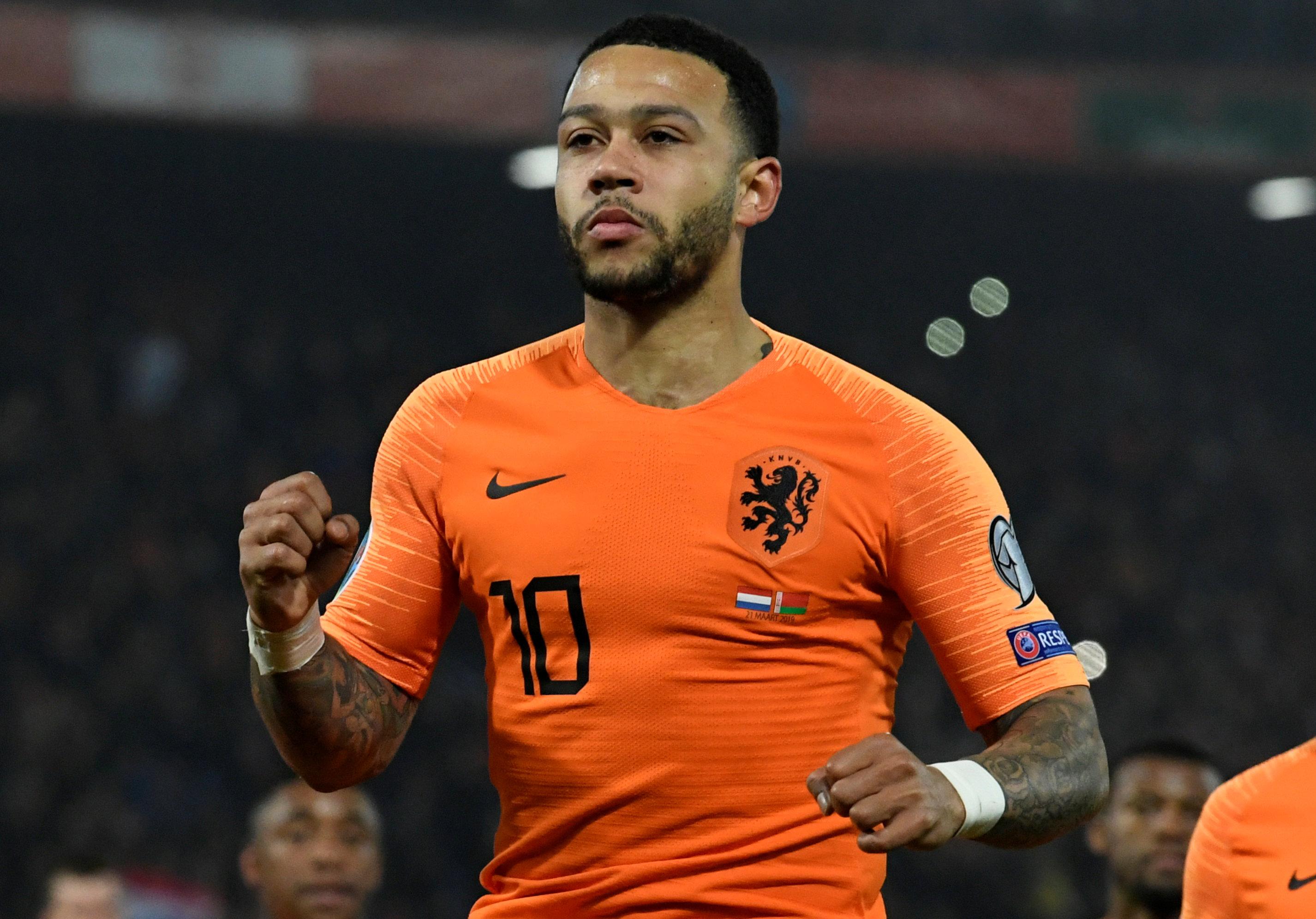 En fotos: Países Bajos sigue su fiesta y ahora mostró su dominio en la eliminatoria de Eurocopa