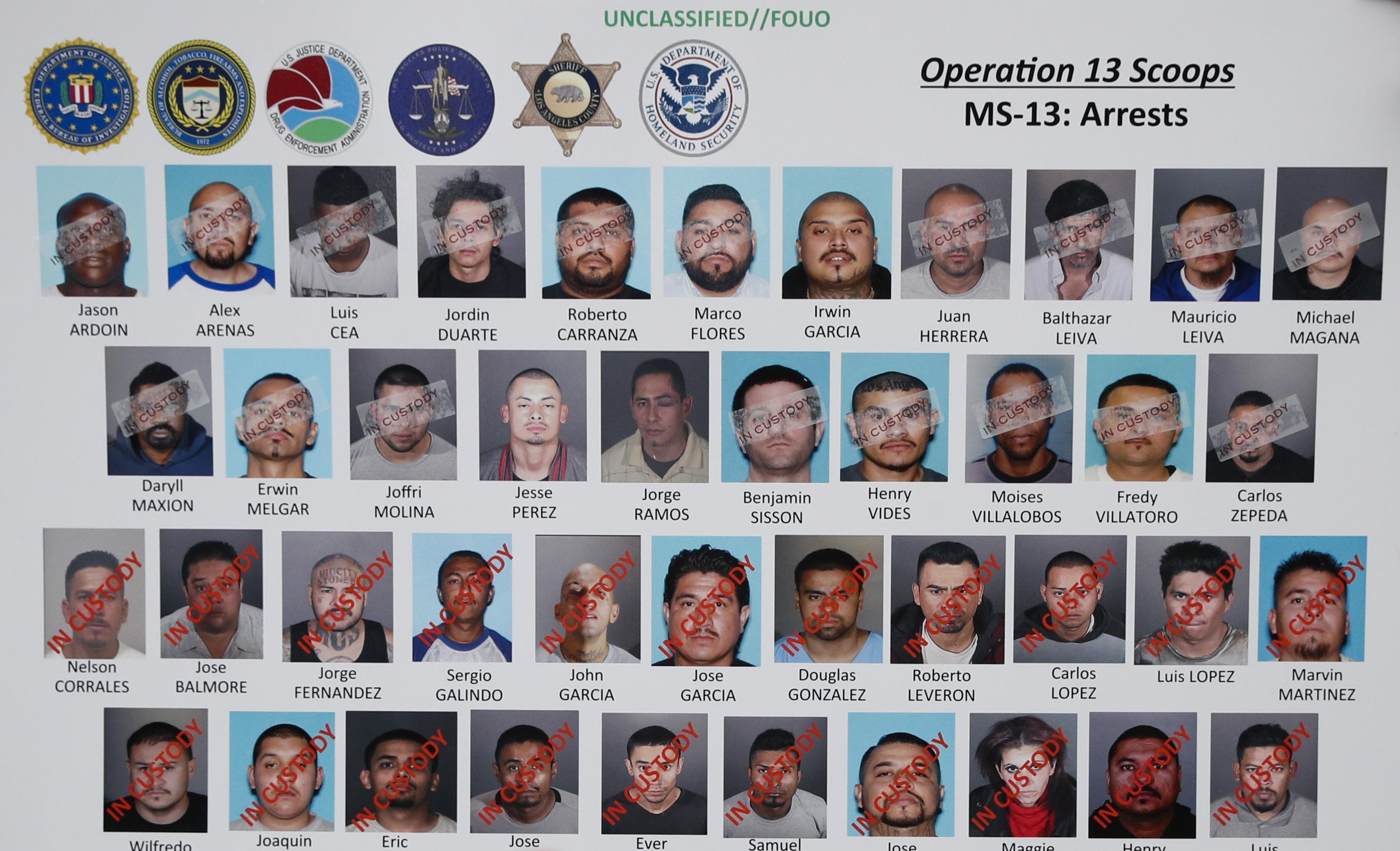 Inside the Mara Salvatrucha gang in Los Angeles: Leadership