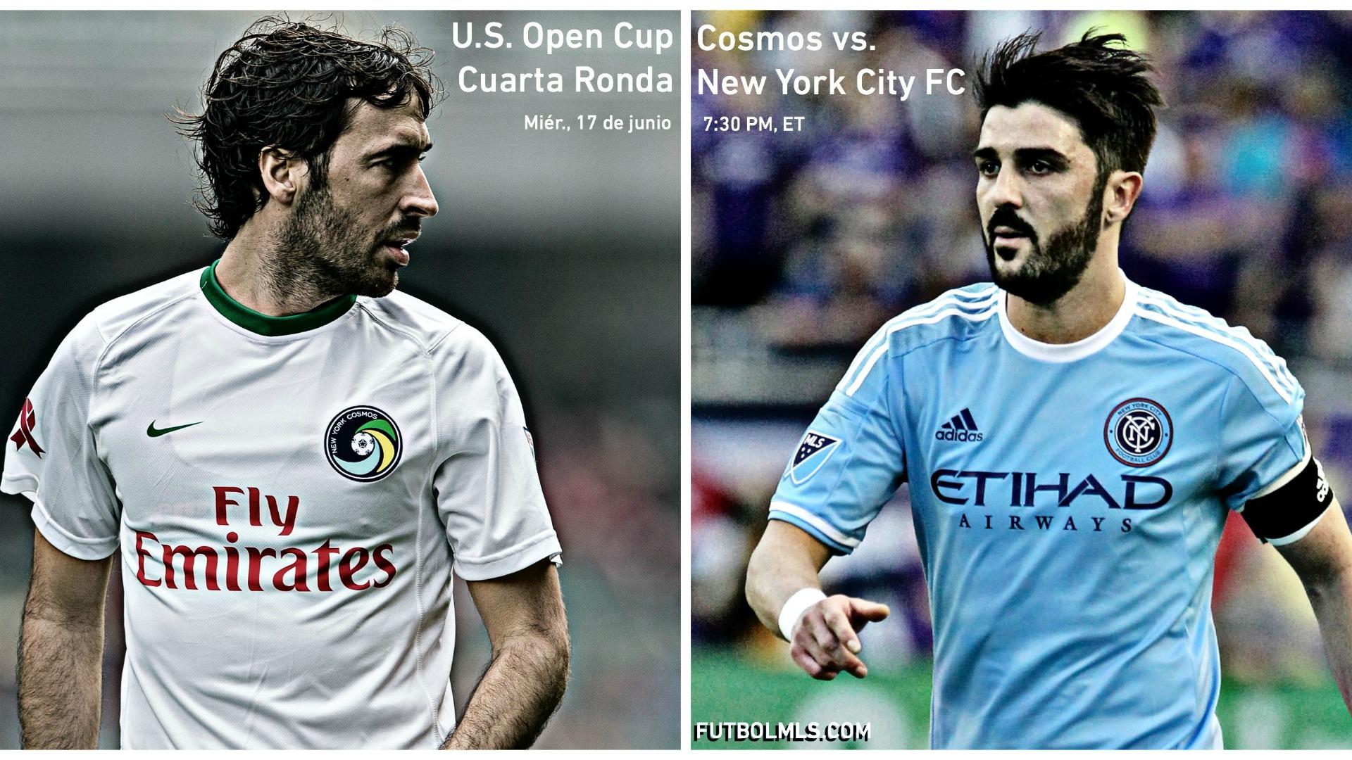15 cosas que debes saber sobre el partido entre Cosmos y New York City FC por la Open Cup